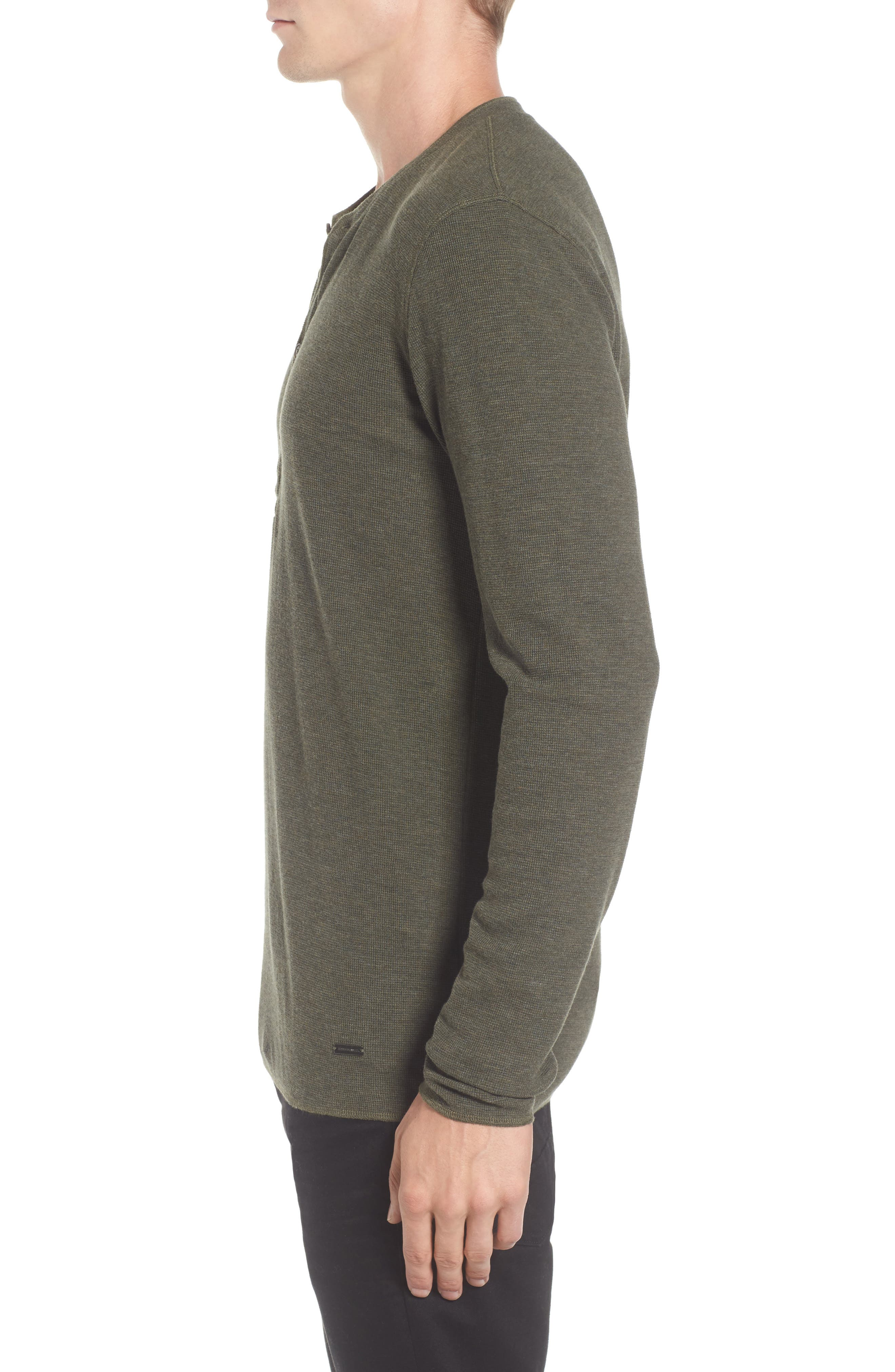 Topsider Thermal Henley,                             Alternate thumbnail 10, color,