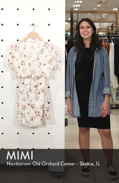 Emily Cutout Minidress, sales video thumbnail