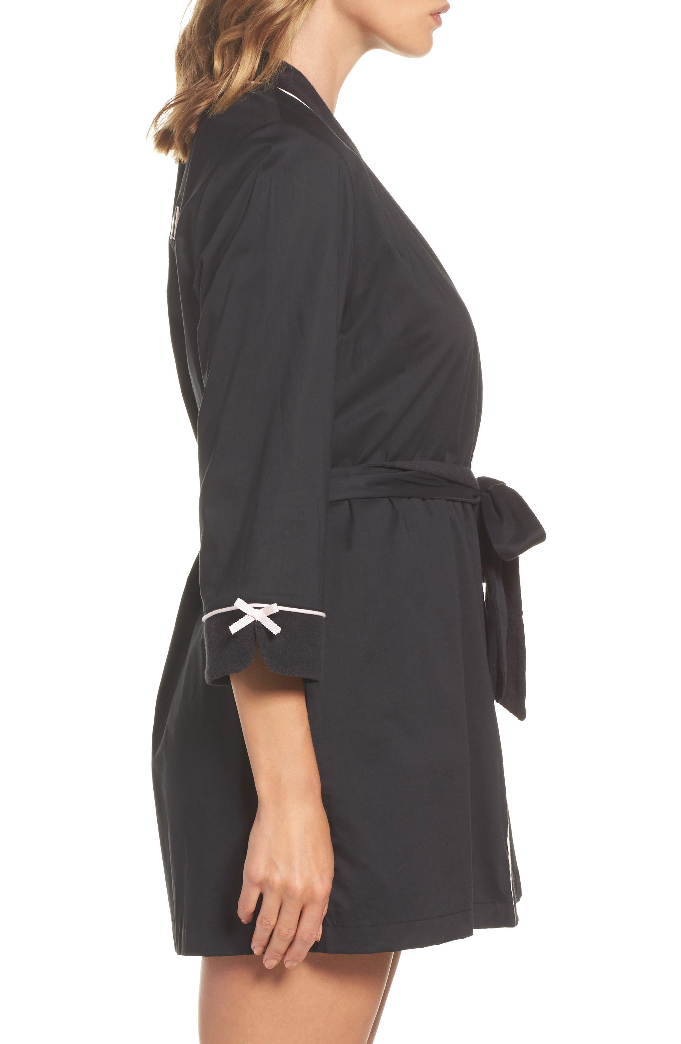 short robe,                             Alternate thumbnail 3, color,                             001