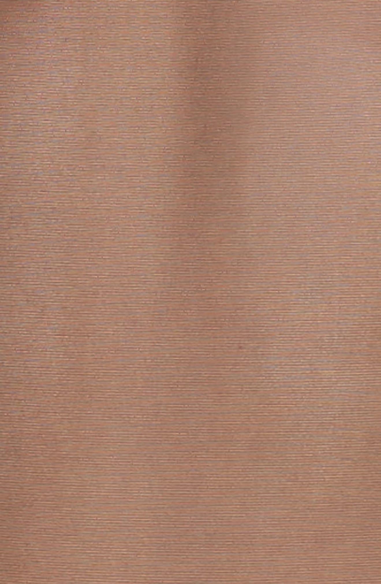 Long Sleeve Mesh Bodysuit,                             Alternate thumbnail 4, color,                             VERY BLACK