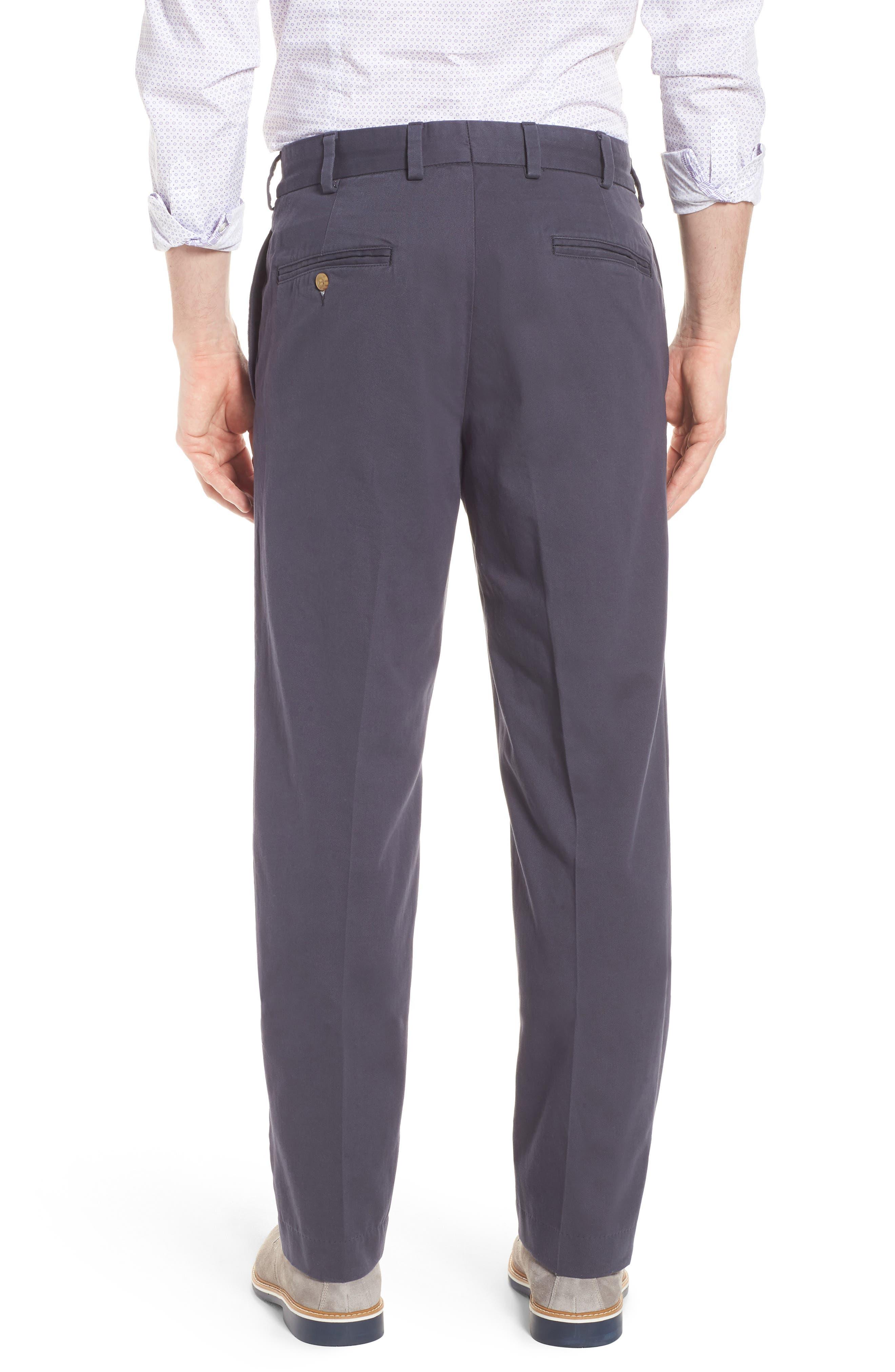 M2 Classic Fit Flat Front Vintage Twill Pants,                             Alternate thumbnail 2, color,                             410