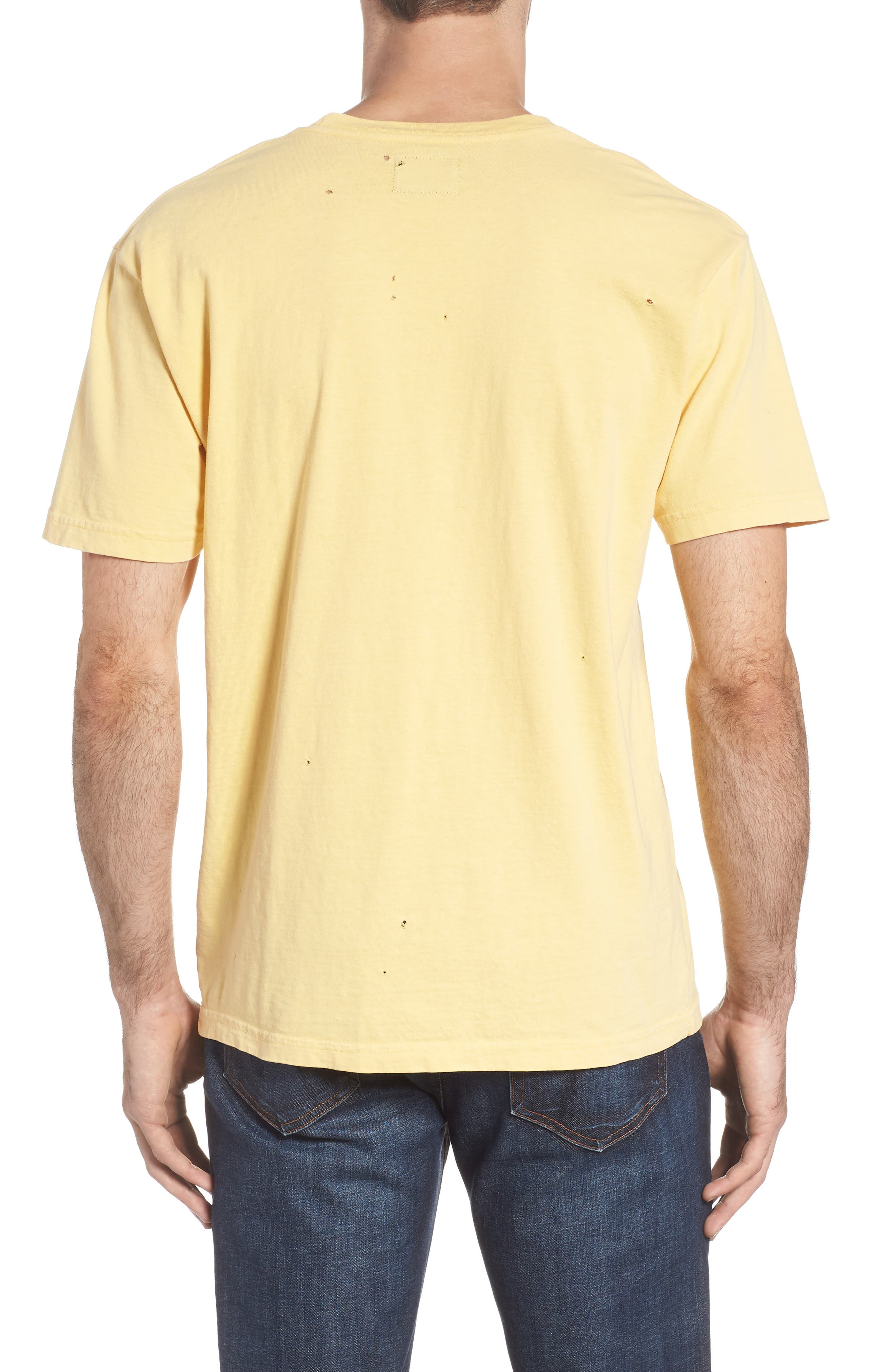 The Police Graphic T-Shirt,                             Alternate thumbnail 2, color,                             ANTIQUE YELLOW