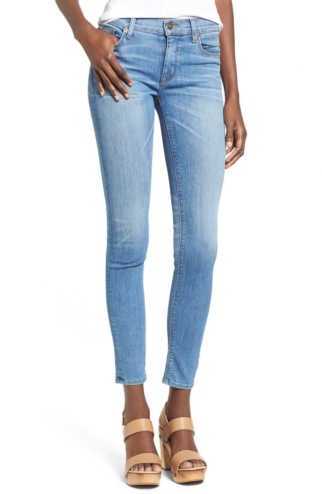 'Nico' Super Skinny Jeans,                             Main thumbnail 6, color,