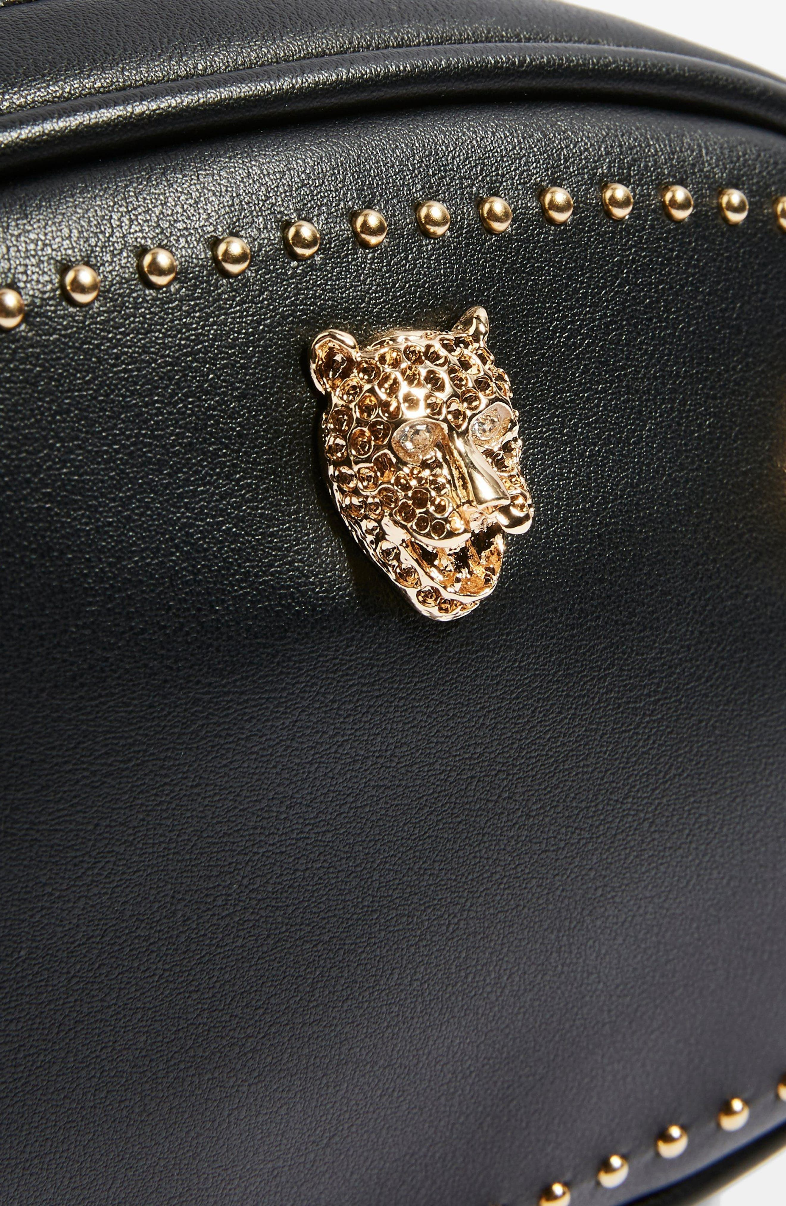 Panther Bum Bag,                             Alternate thumbnail 4, color,                             001