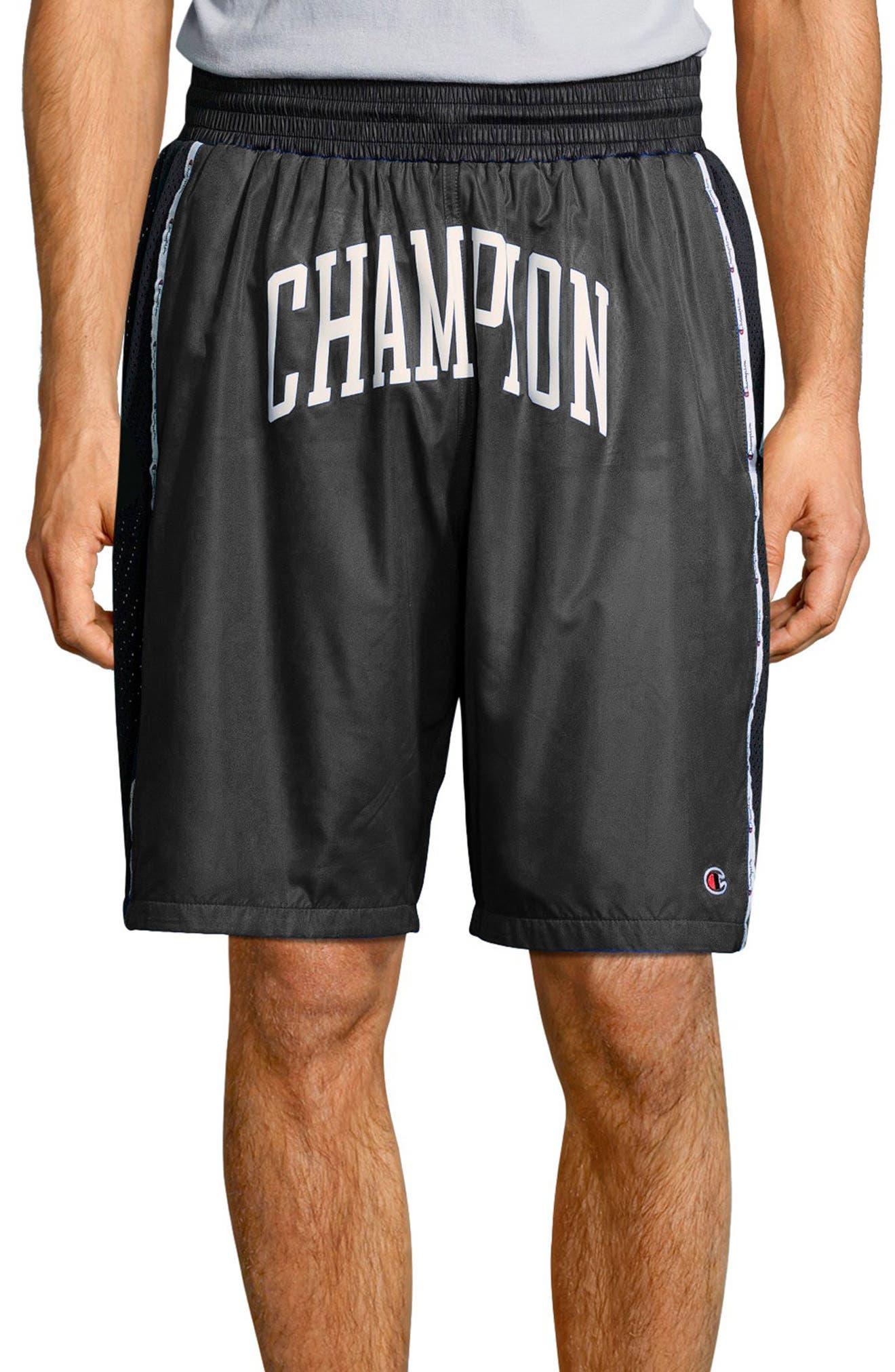 Satin Shorts,                         Main,                         color, 001