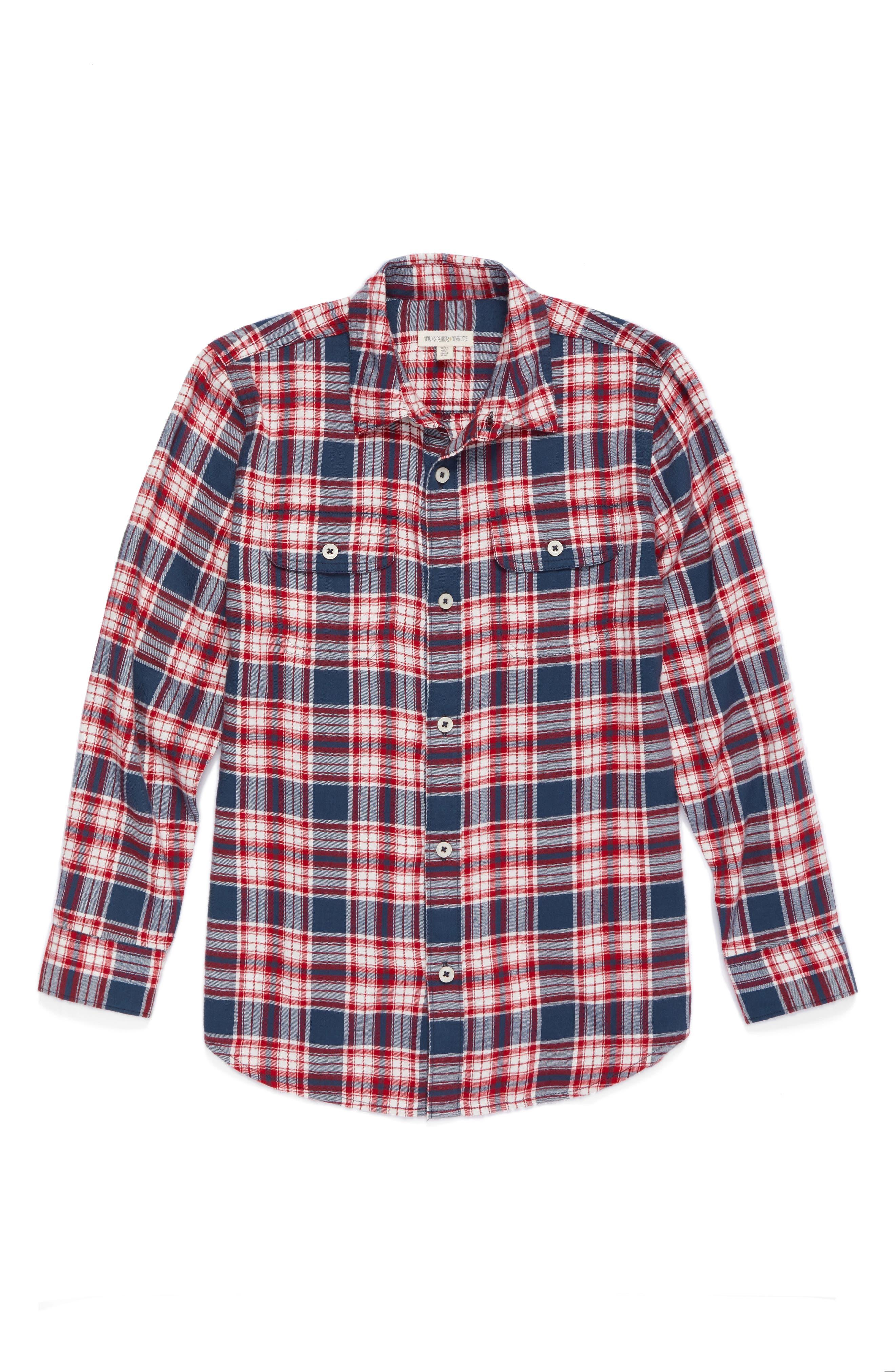 Ultrasoft Flannel Shirt,                         Main,                         color,