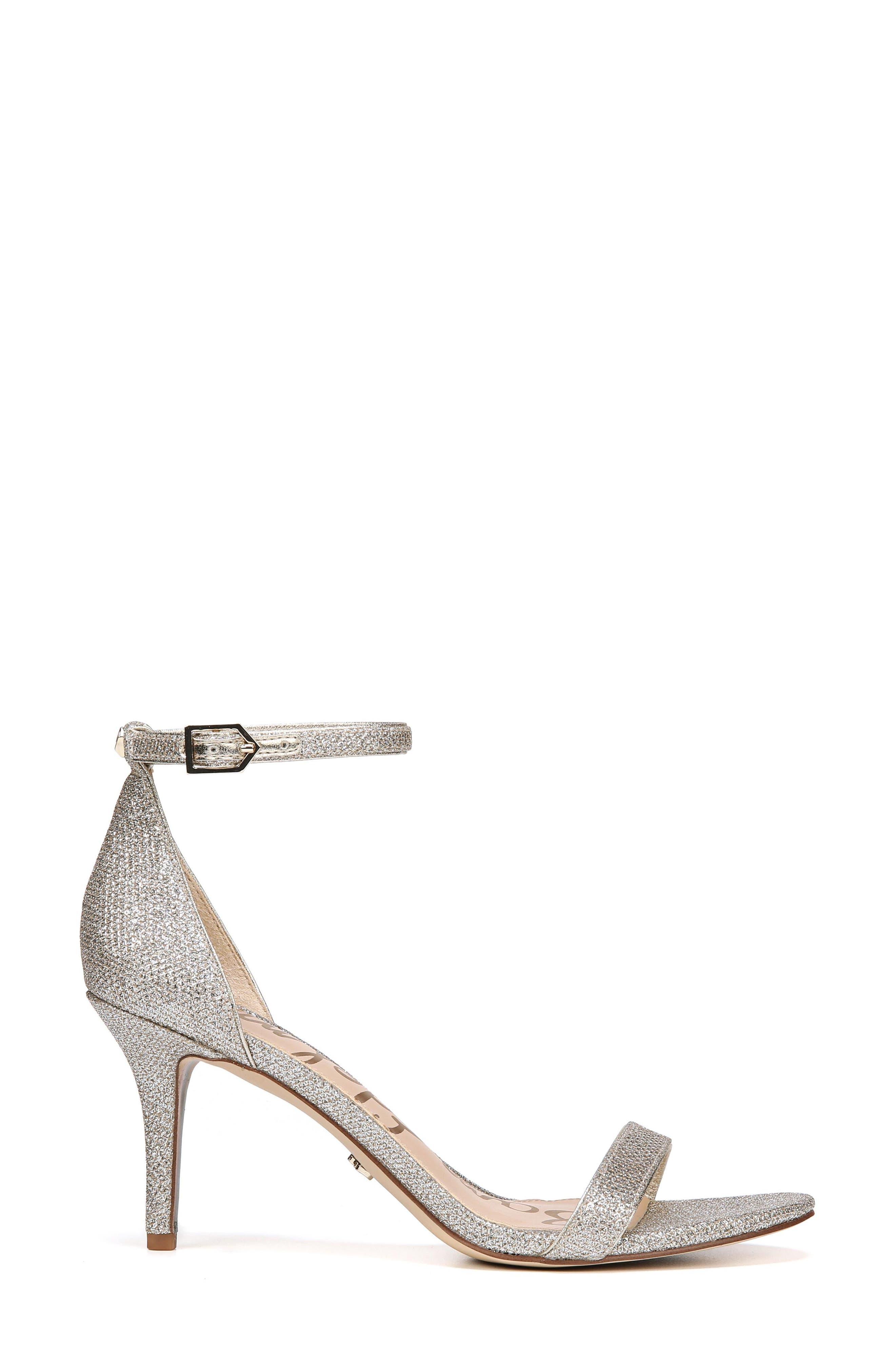 SAM EDELMAN,                             'Patti' Ankle Strap Sandal,                             Alternate thumbnail 3, color,                             JUTE FABRIC