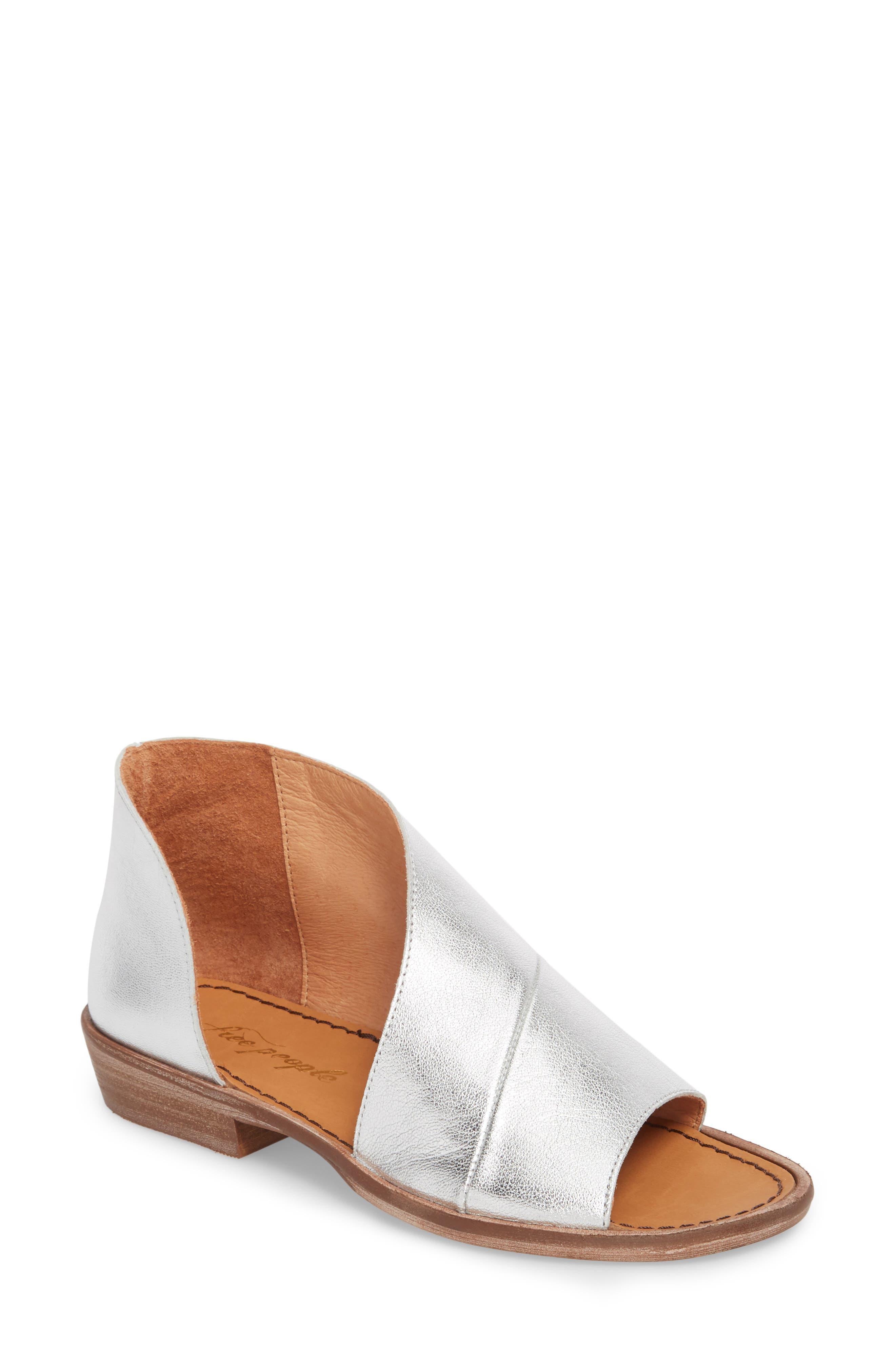 'Mont Blanc' Asymmetrical Sandal,                             Main thumbnail 2, color,