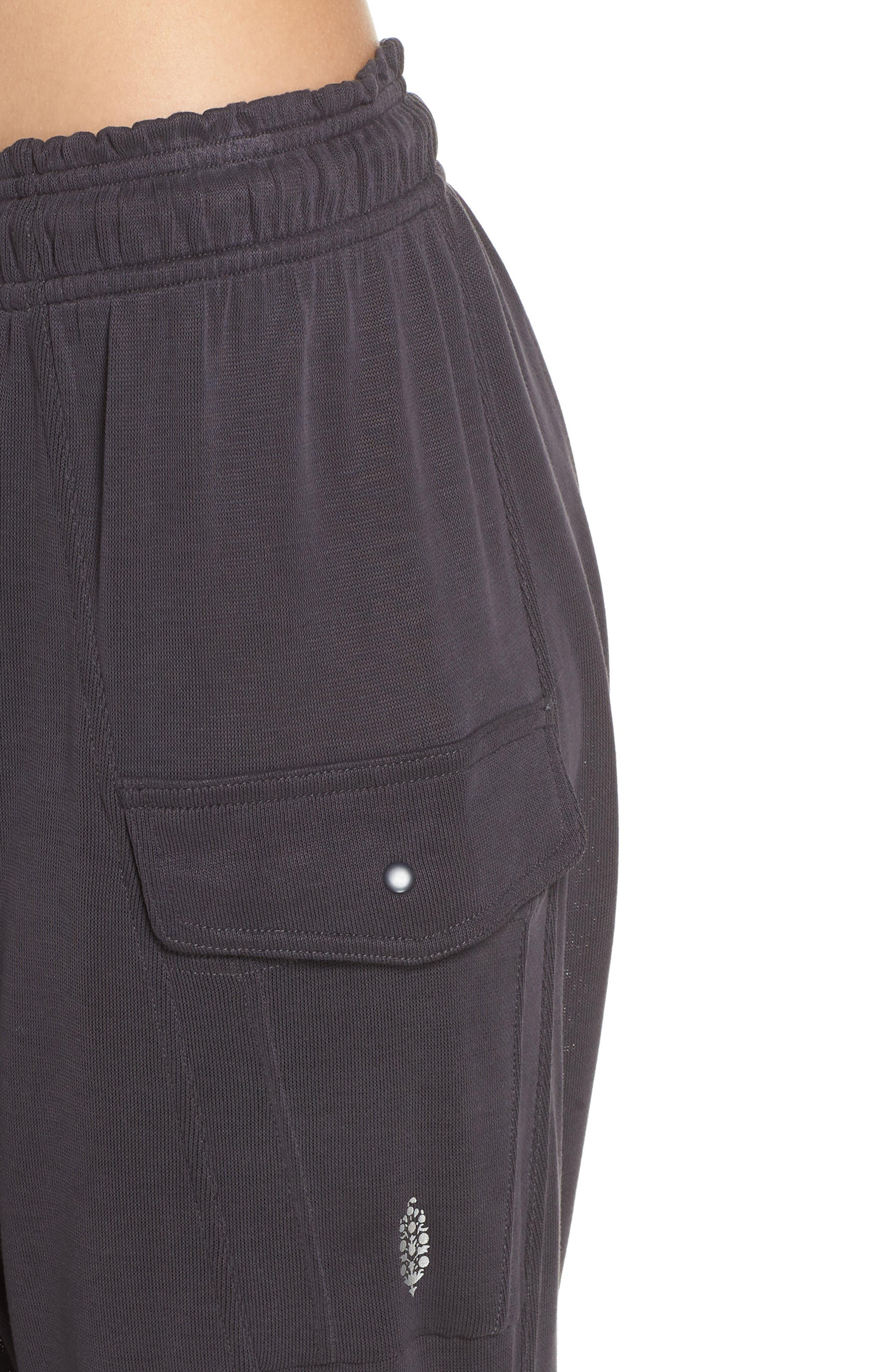 Just Like That Harem Pants,                             Alternate thumbnail 4, color,                             BLACK