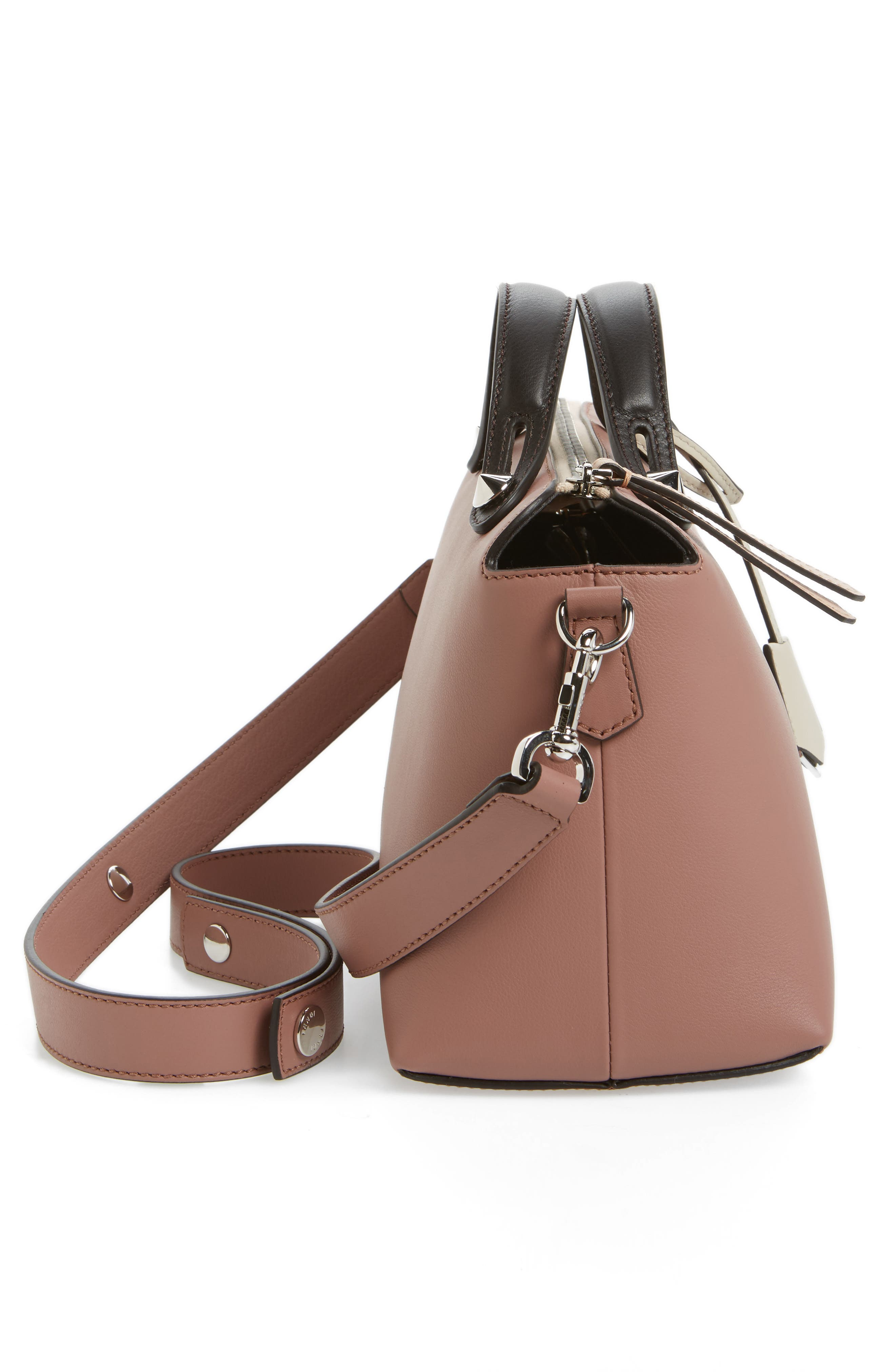 'Medium By the Way' Colorblock Leather Shoulder Bag,                             Alternate thumbnail 57, color,