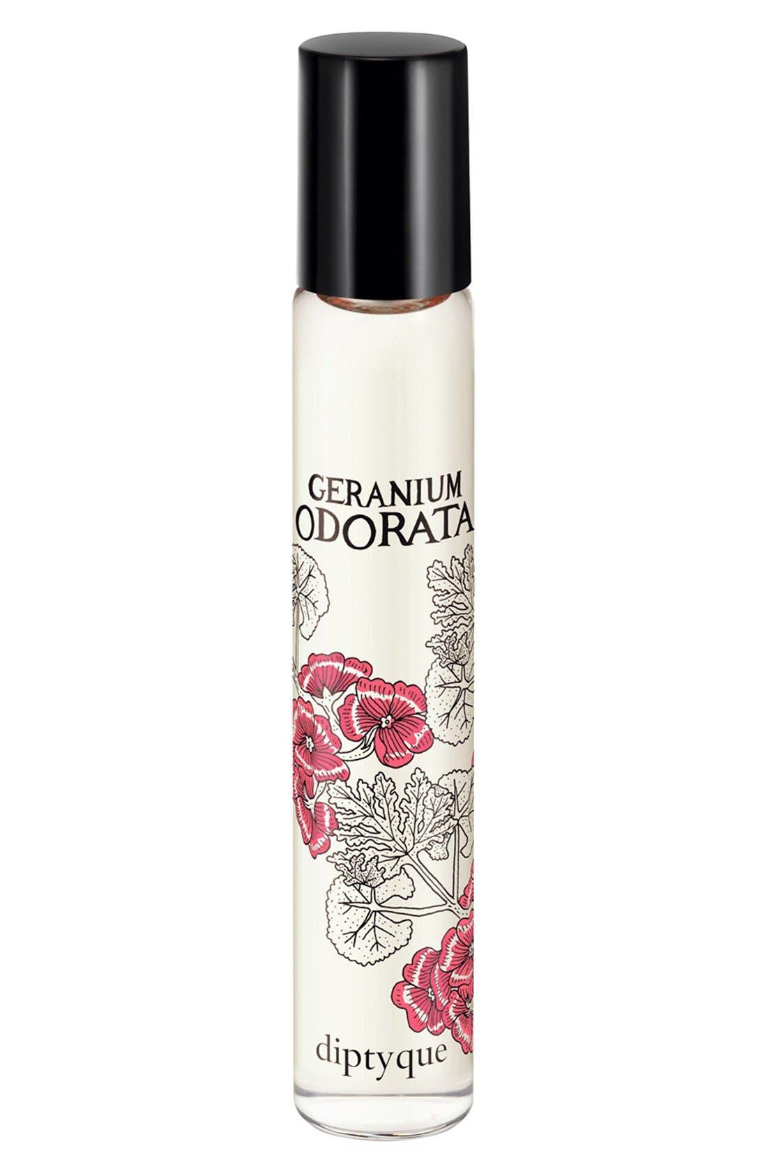 Geranium Odorata Eau de Parfum Rollerball,                             Main thumbnail 1, color,                             000
