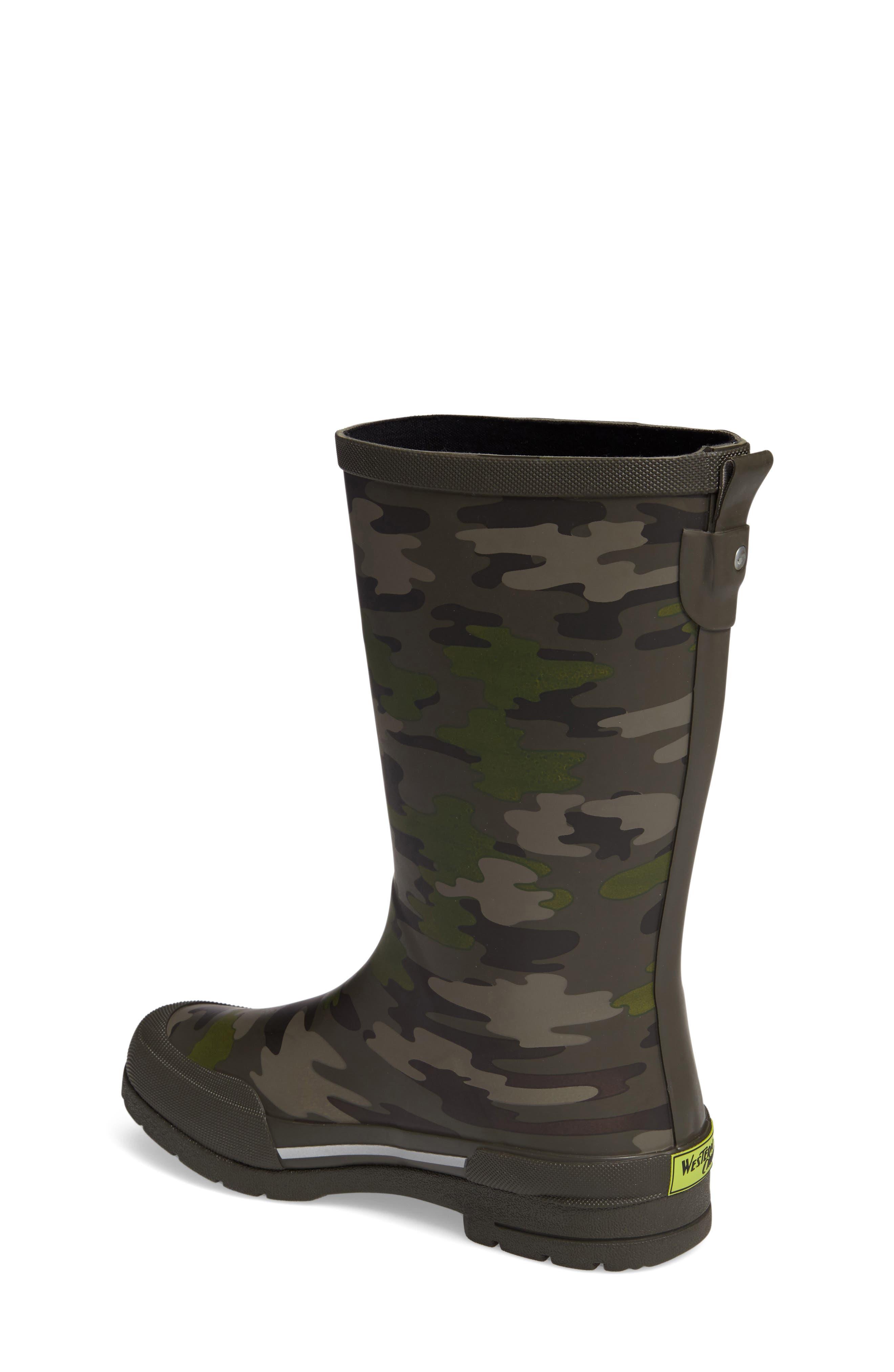 Classic EX Camo Waterproof Rain Boot,                             Alternate thumbnail 2, color,