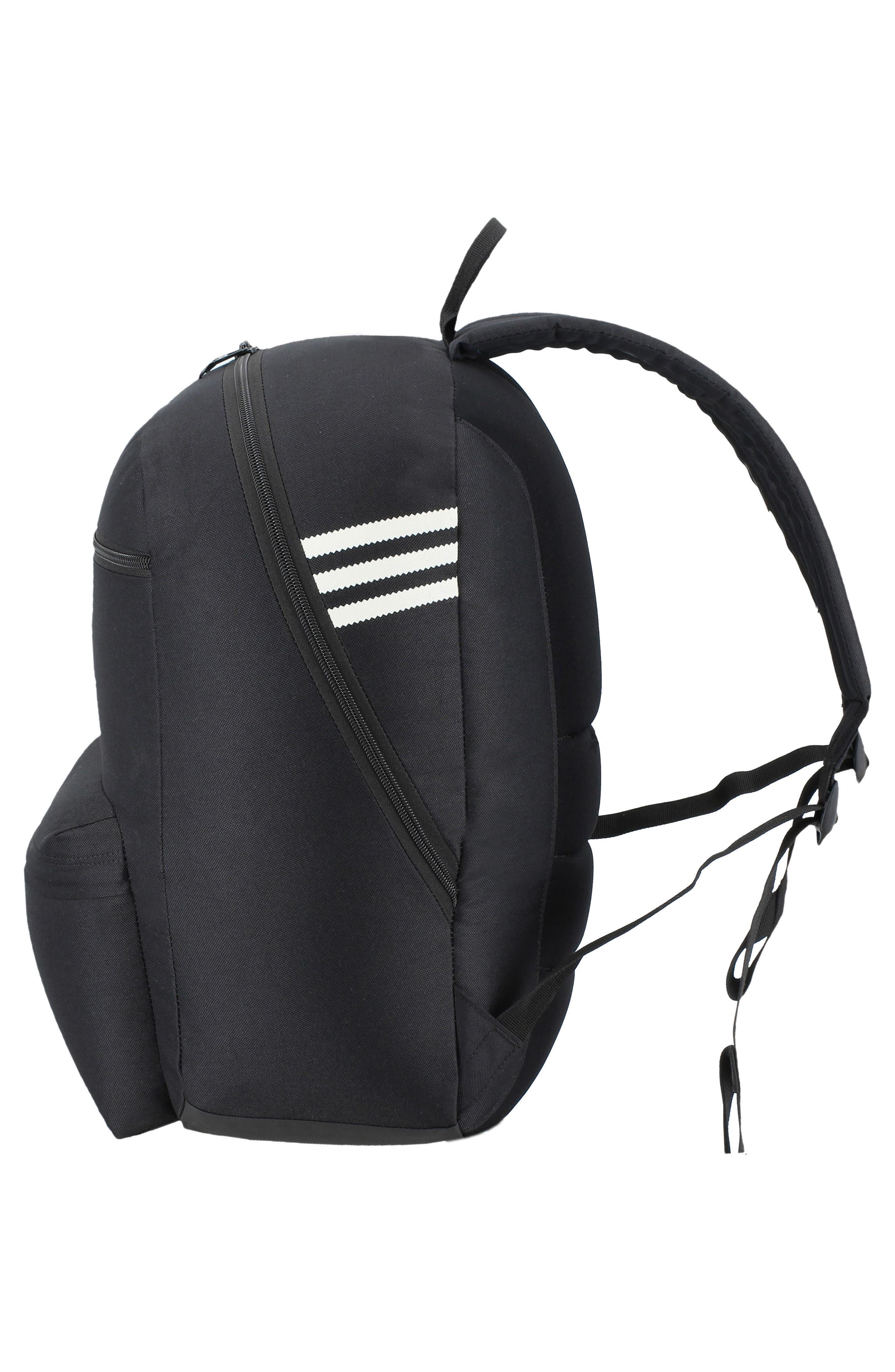 ADIDAS ORIGINALS,                             Nationals Backpack,                             Alternate thumbnail 6, color,                             BLACK