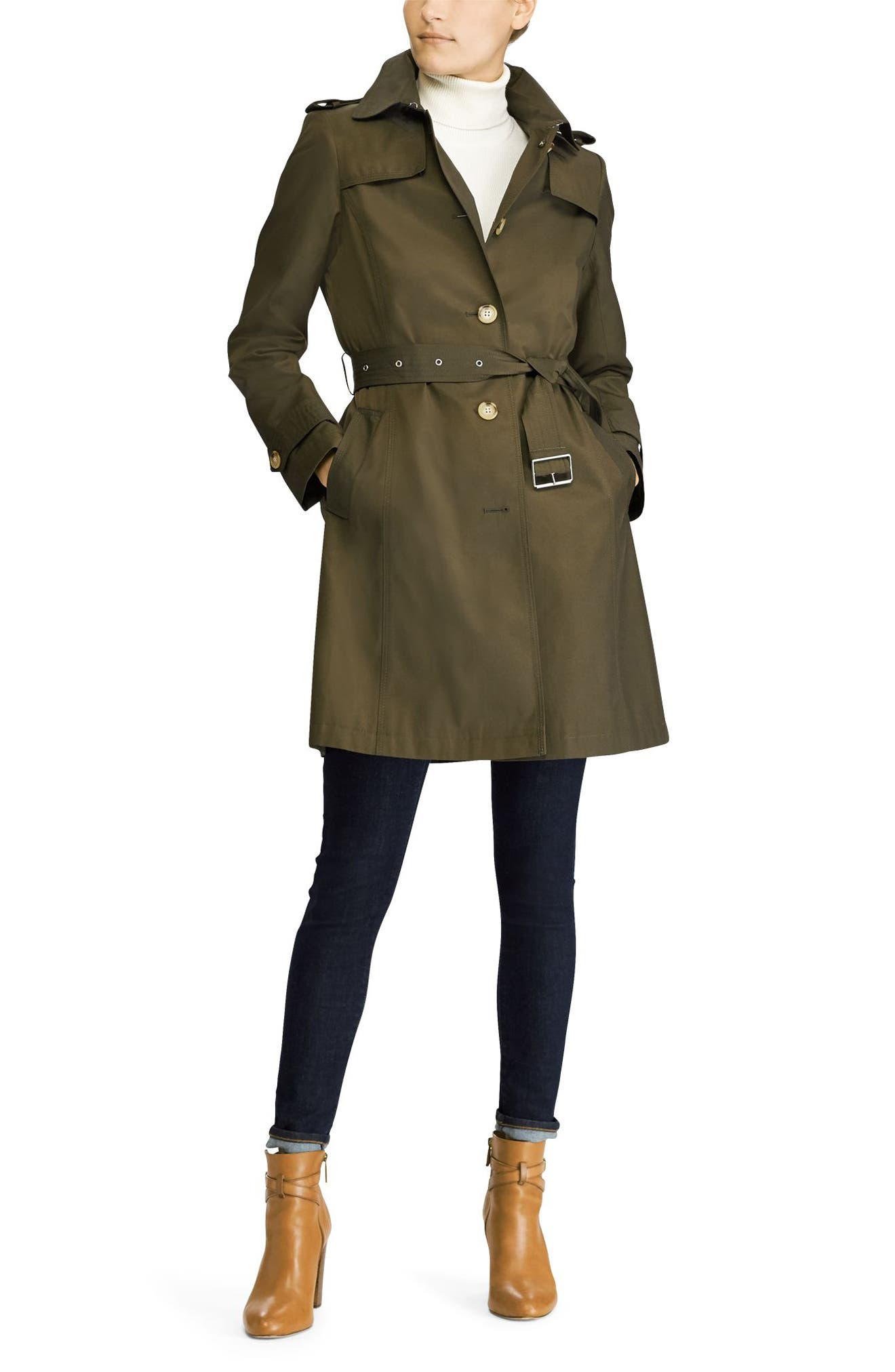 Trench Coat,                             Alternate thumbnail 8, color,