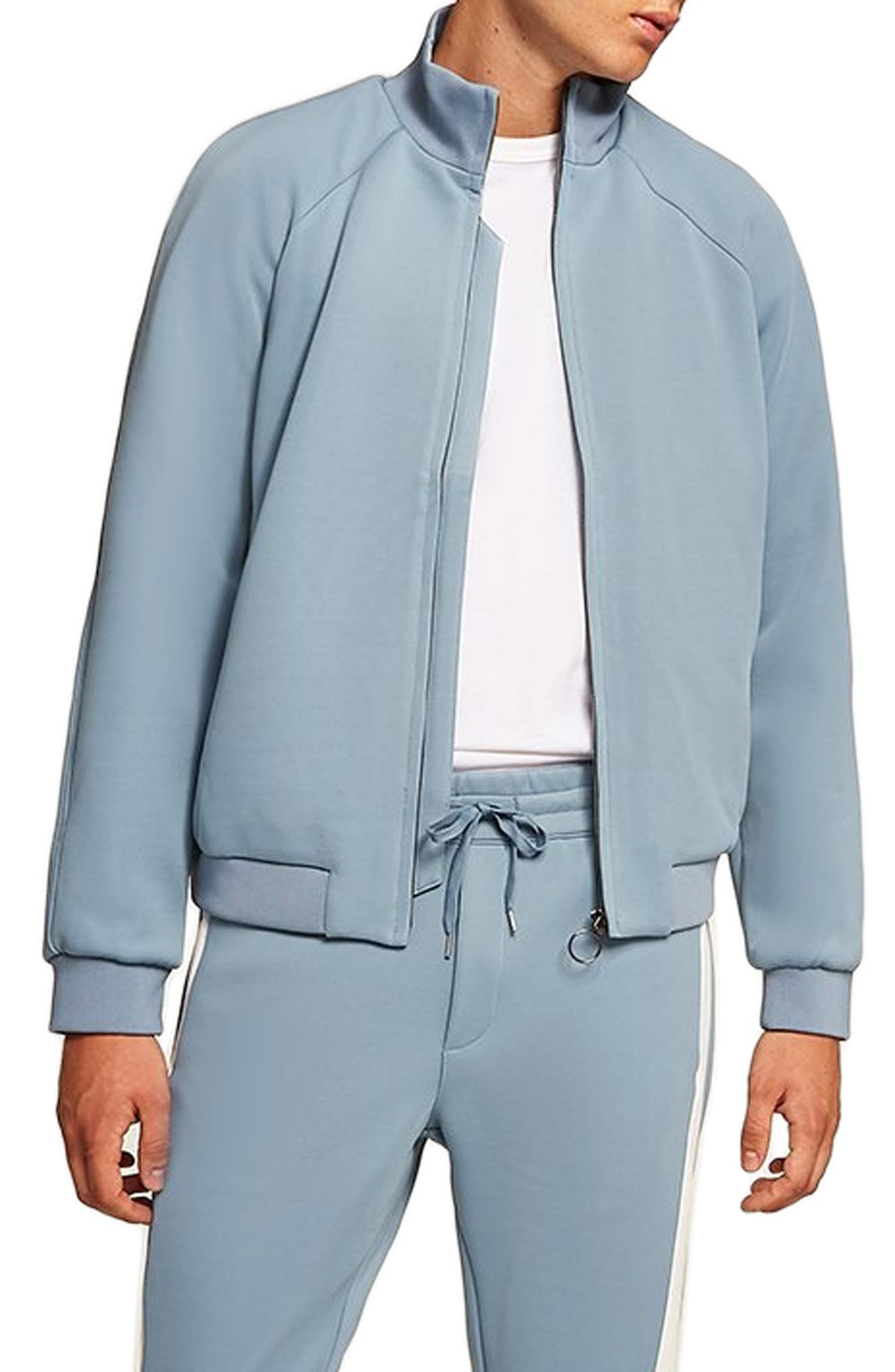 Track Jacket,                             Main thumbnail 1, color,                             BLUE