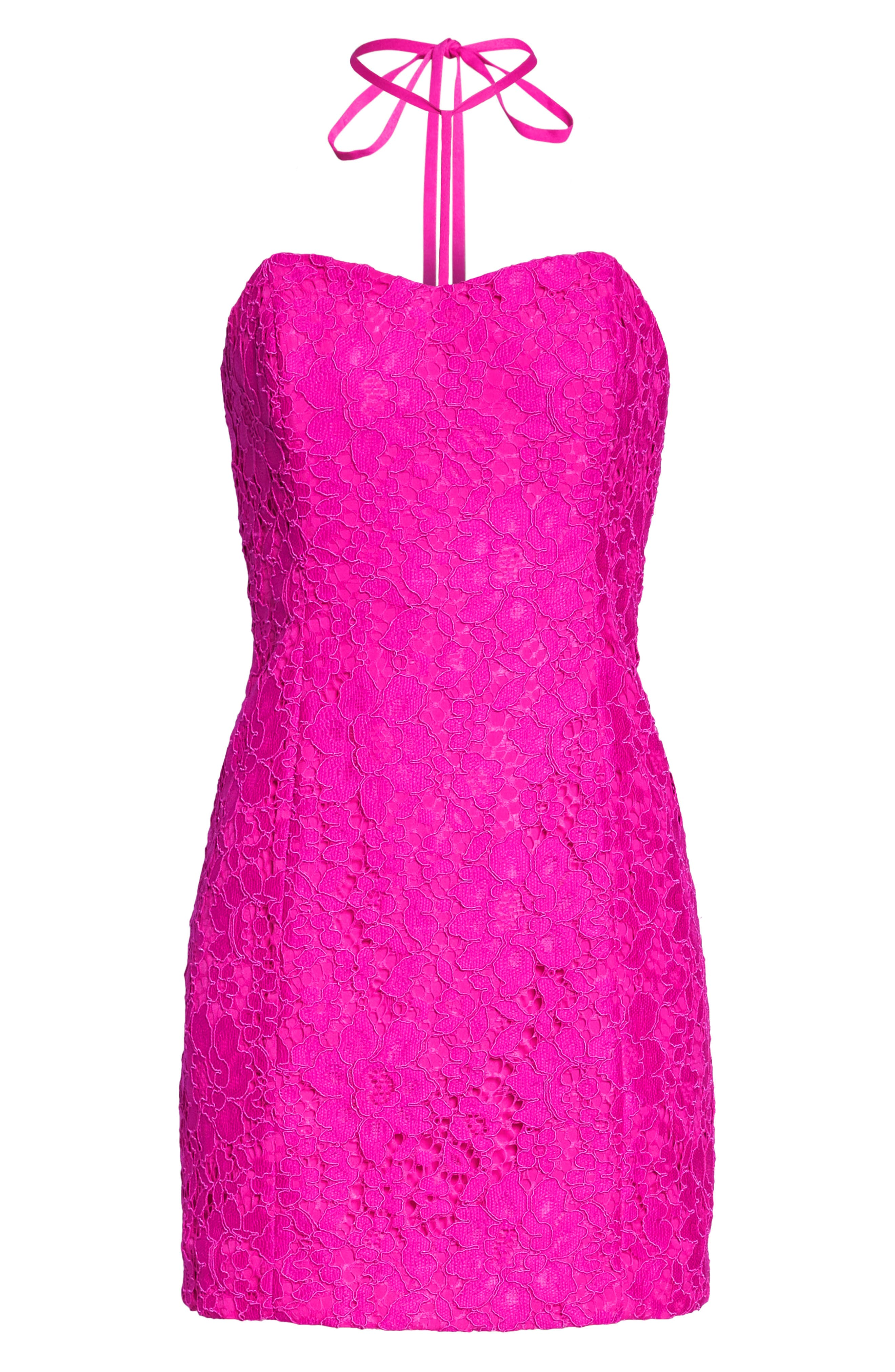 Demi Lace Dress,                             Alternate thumbnail 9, color,                             650