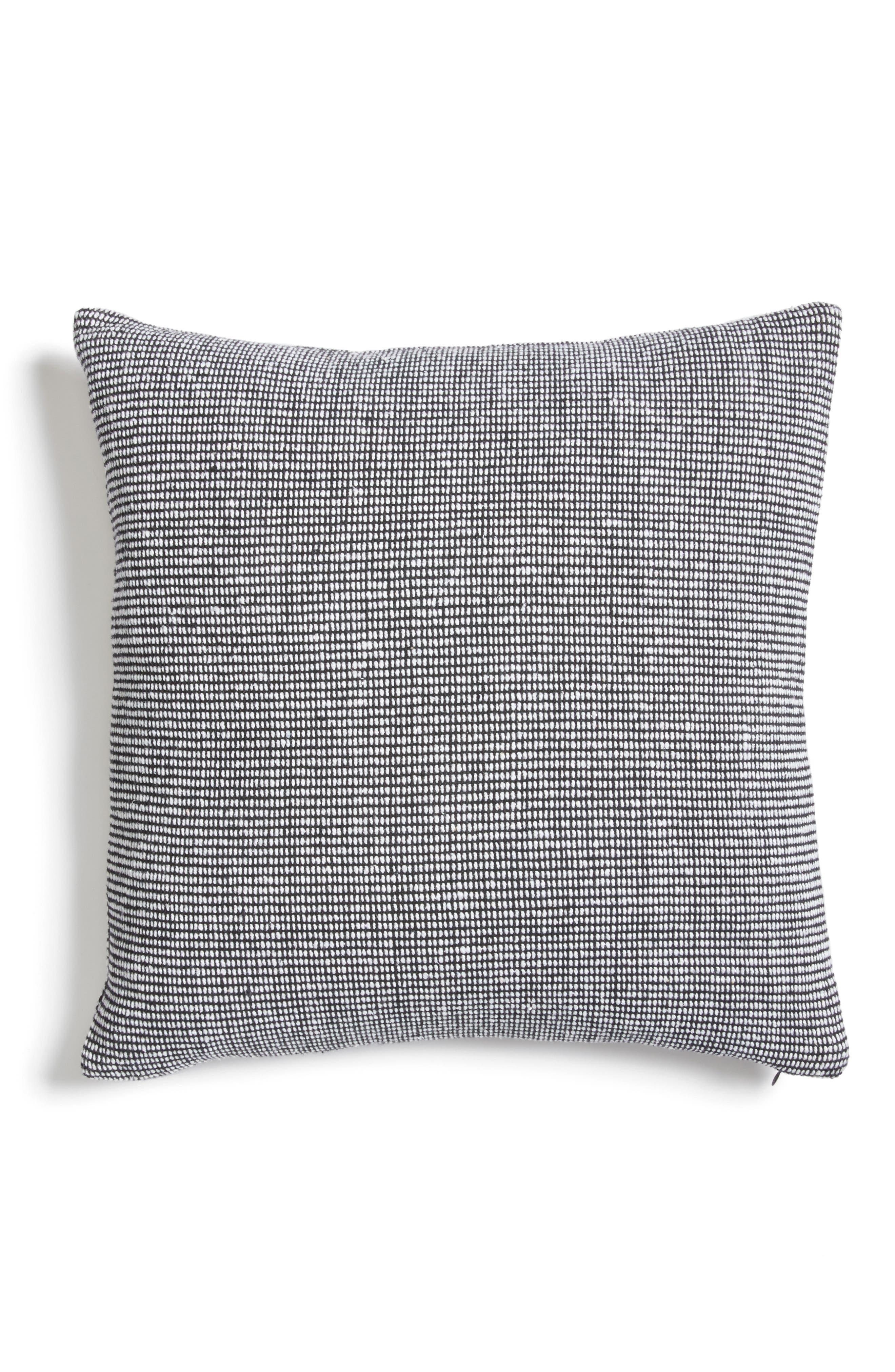 CALVIN KLEIN HOME,                             Structure Accent Pillow,                             Alternate thumbnail 2, color,                             001