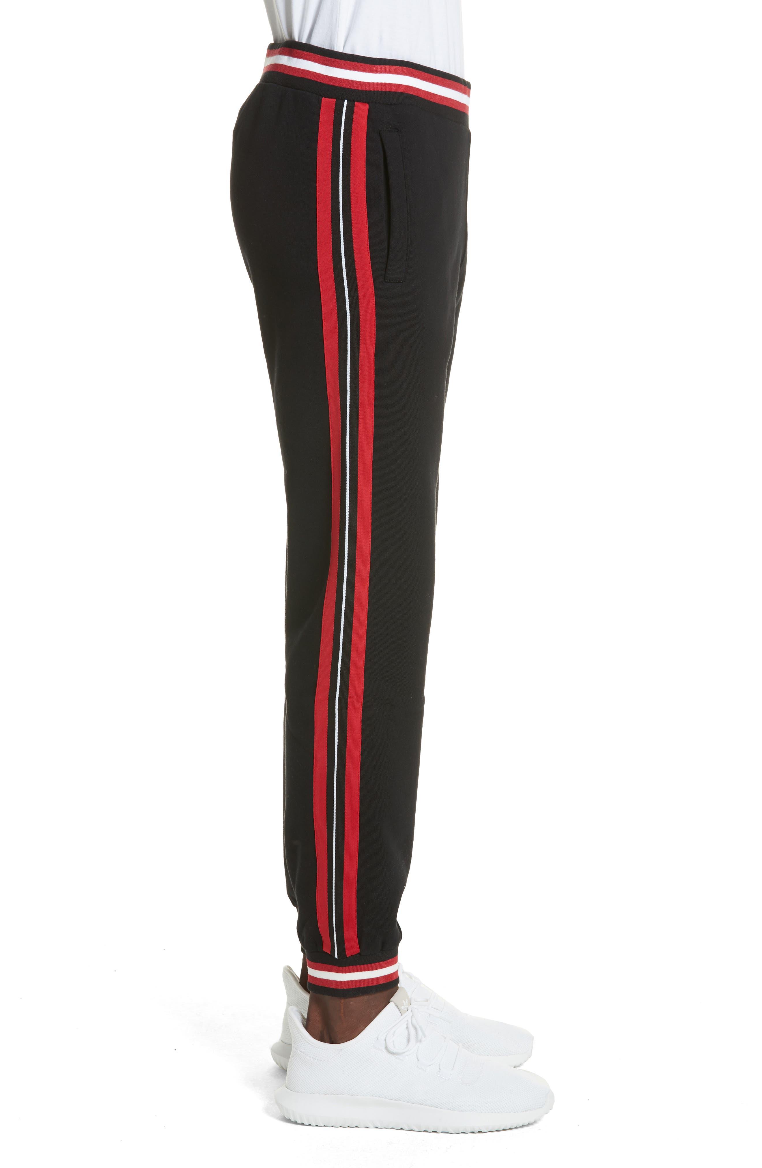 Stripe Track Pants,                             Alternate thumbnail 3, color,