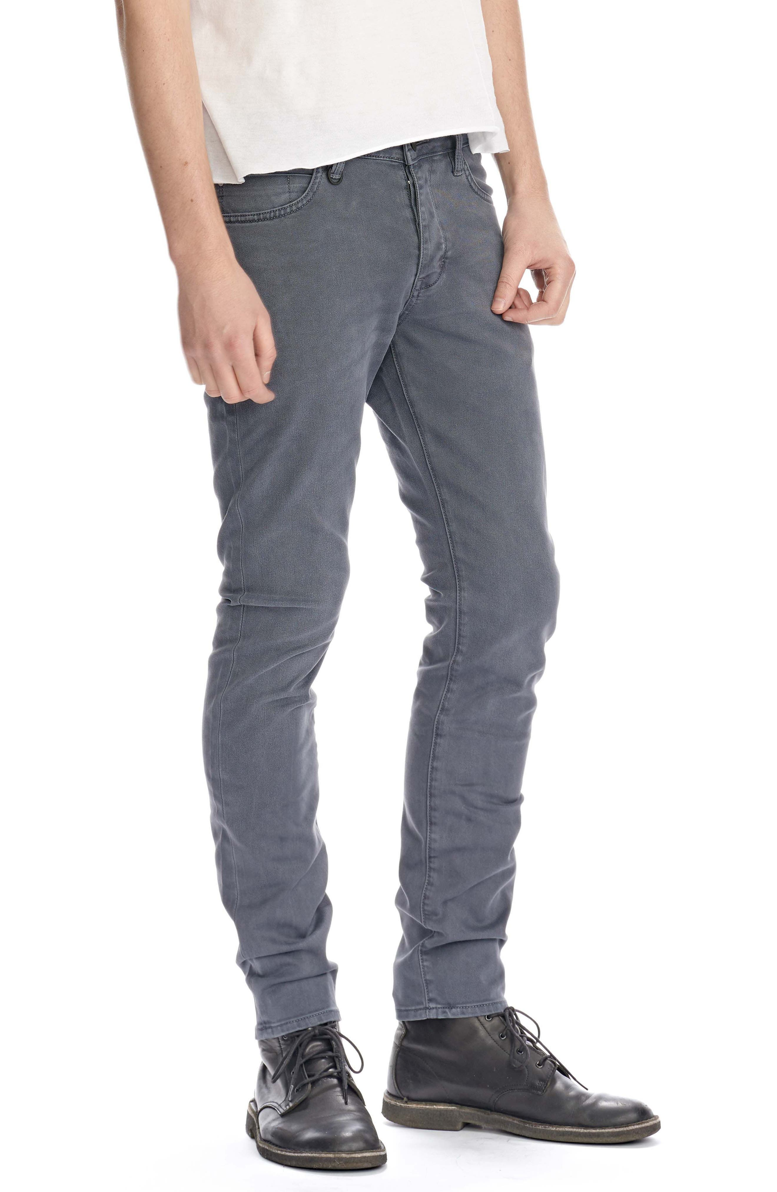 Iggy Skinny Fit Jeans,                             Alternate thumbnail 3, color,                             020