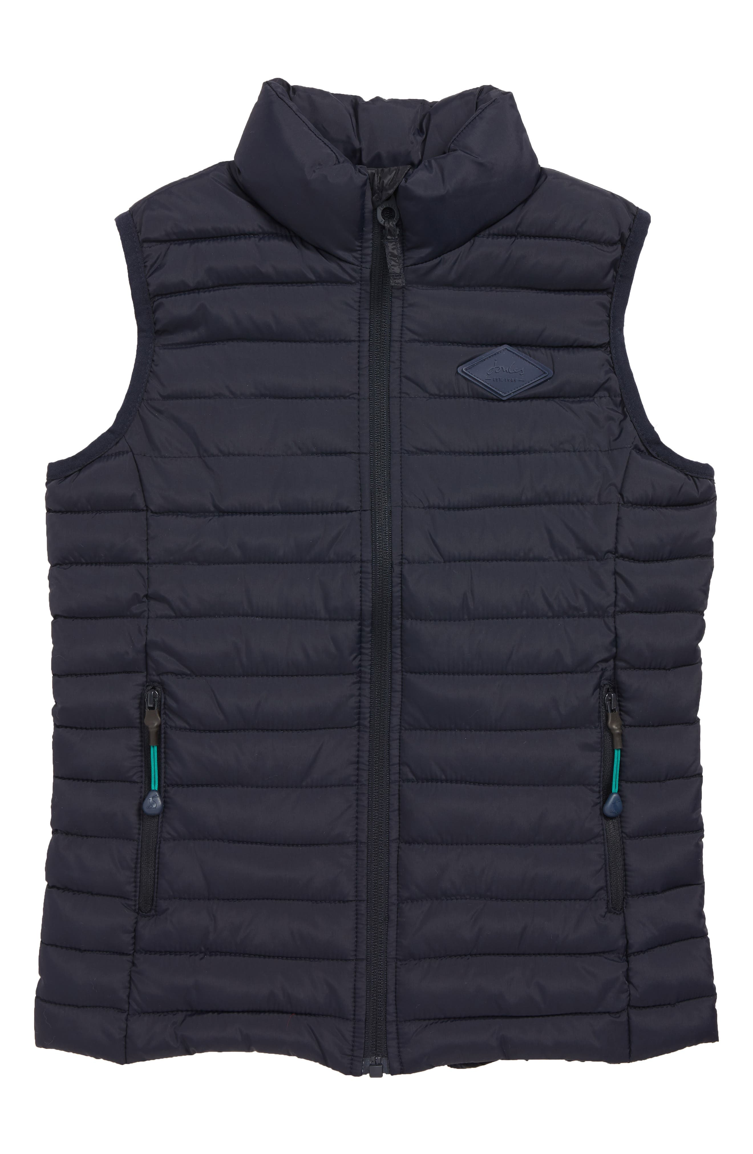 Boys Joules Crofton Packable Vest Size 6Y  Green