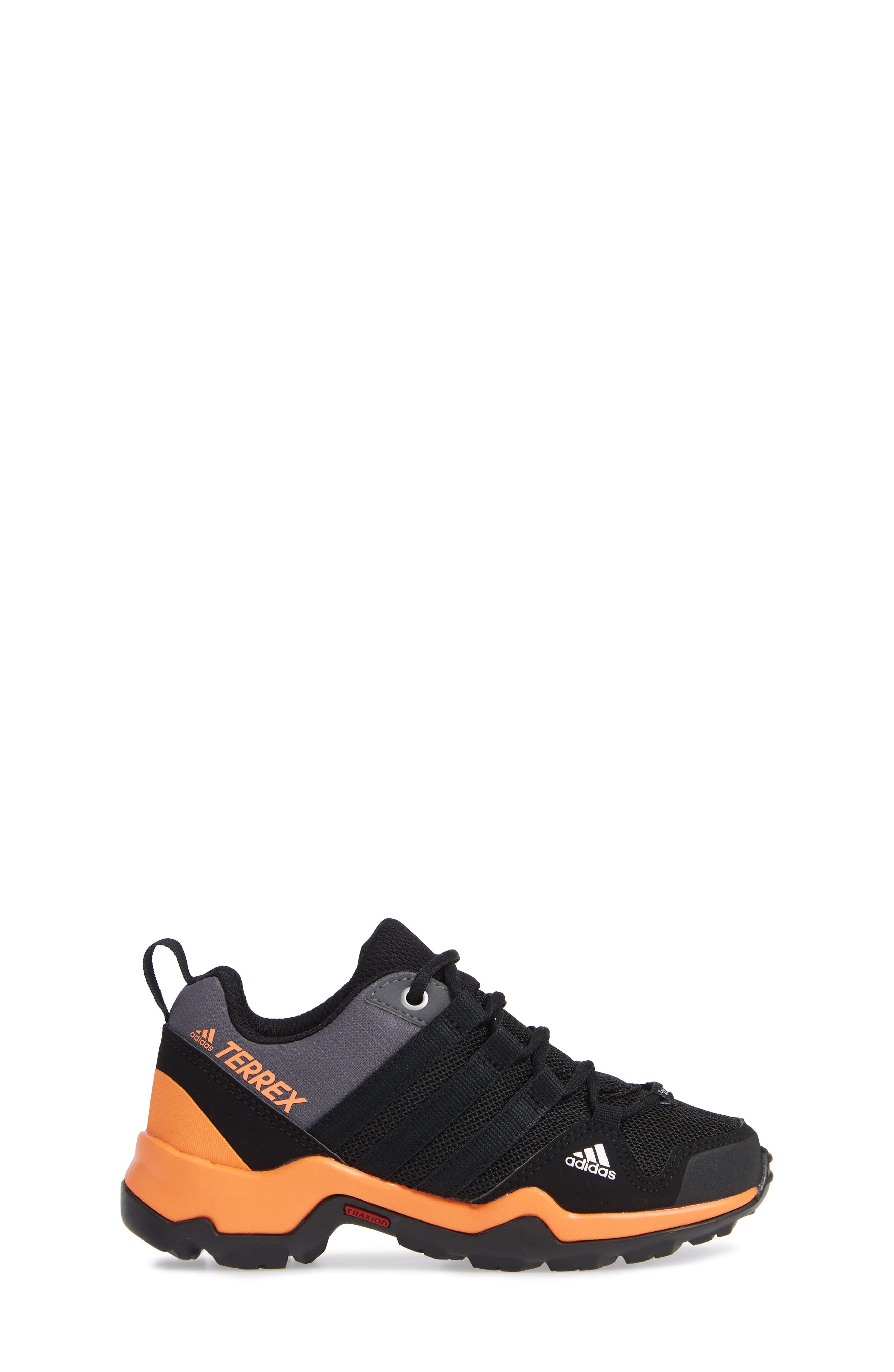 Terrex AX2R CP Sneaker,                             Alternate thumbnail 3, color,                             BLACK/ BLACK/ BLACK