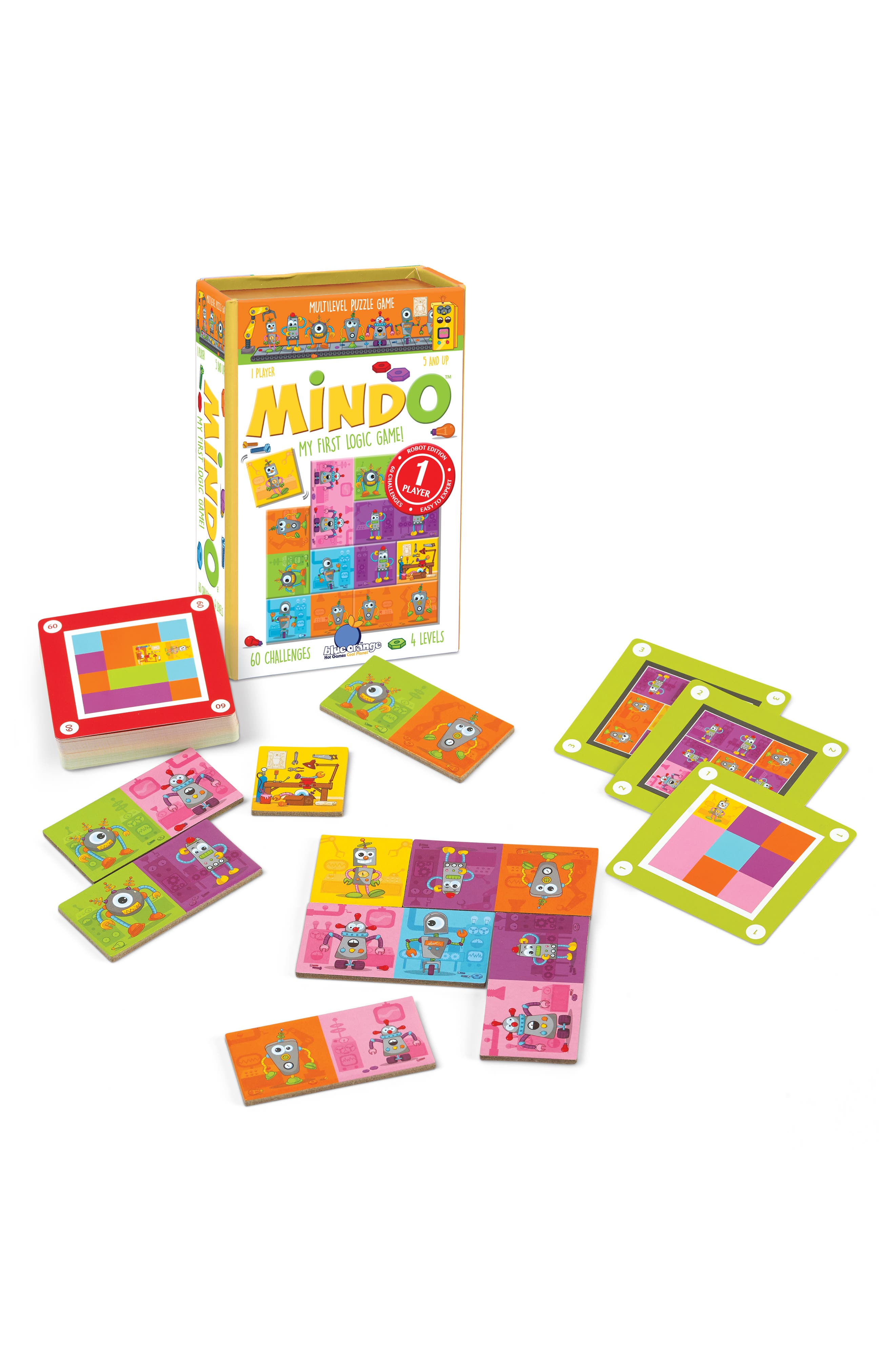 Mindo Robot Logic Game,                             Alternate thumbnail 2, color,                             961