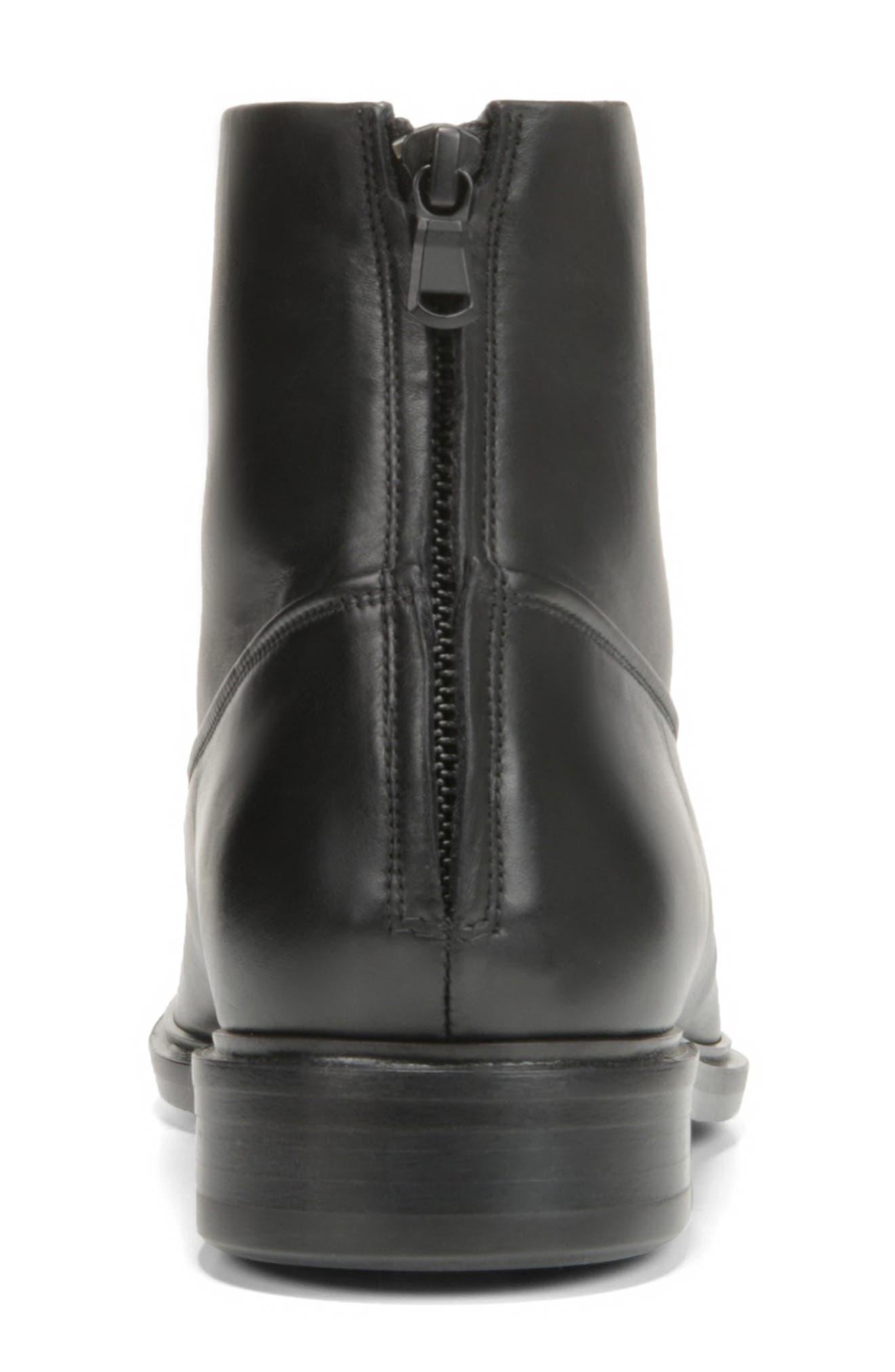 Beckett Zip Boot,                             Alternate thumbnail 7, color,                             BLACK