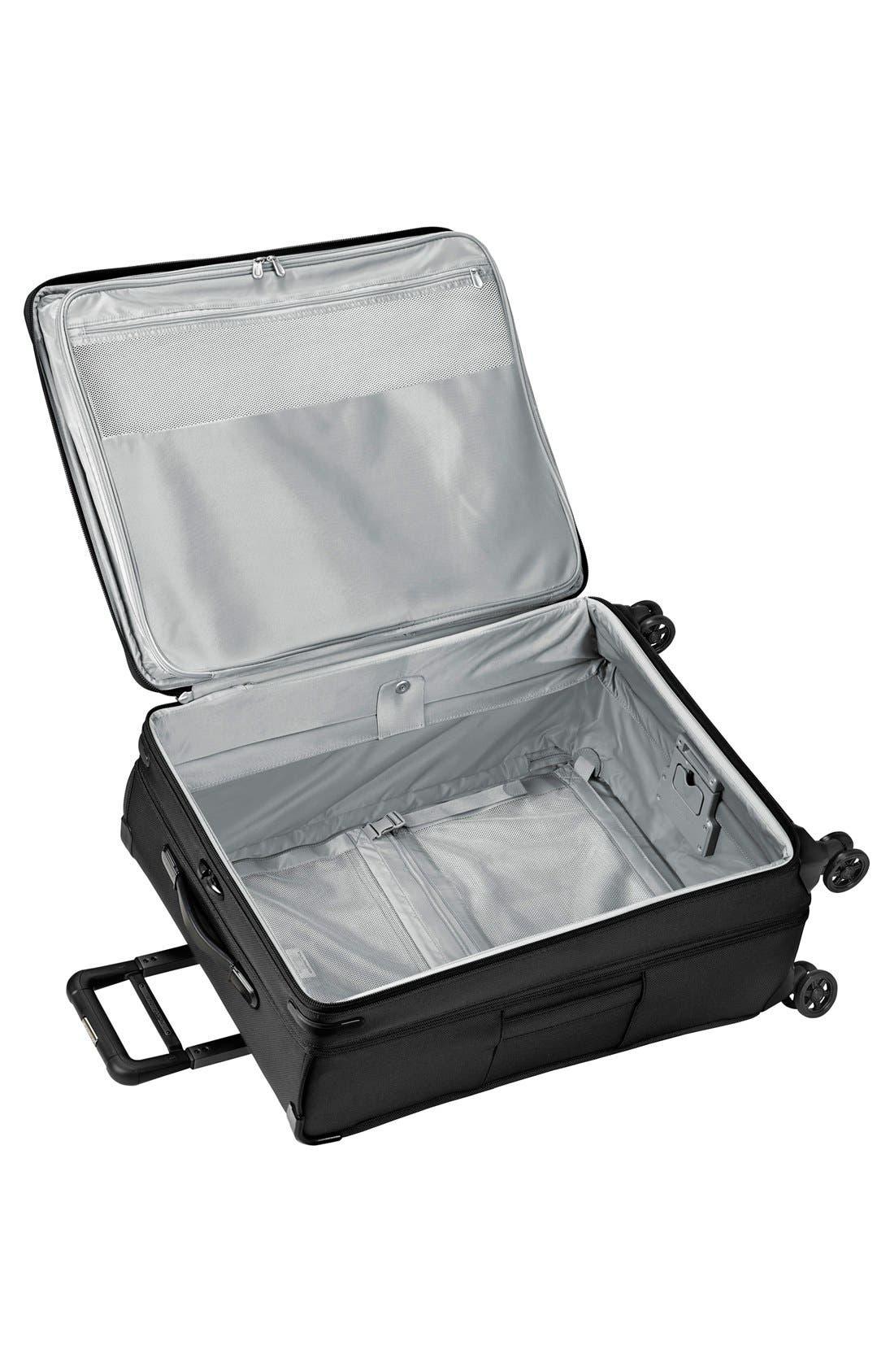 'Baseline' Large Expandable Rolling Packing Case,                             Alternate thumbnail 2, color,                             BLACK