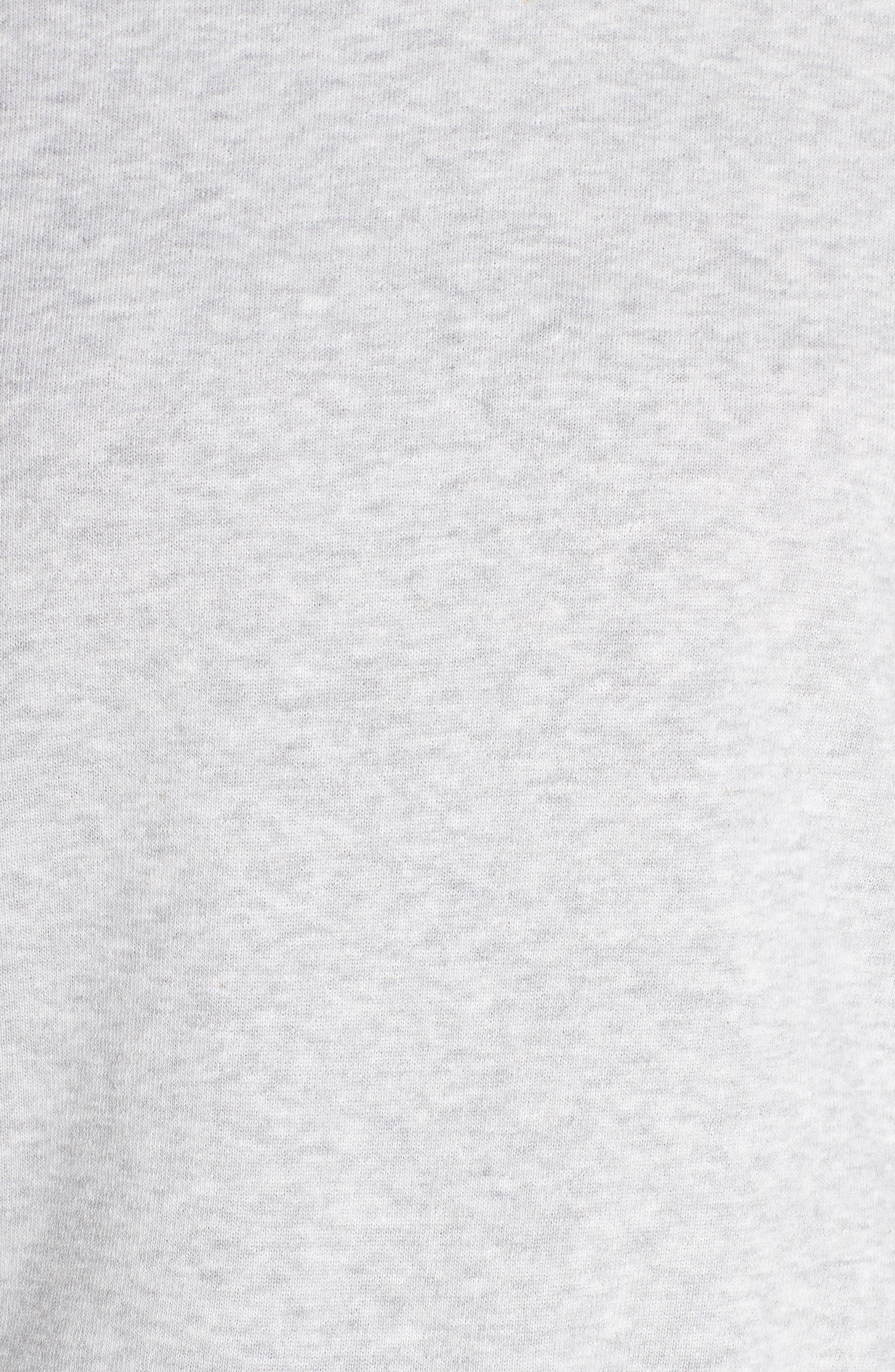 Drawstring Cowl Neck Pullover,                             Alternate thumbnail 5, color,                             020