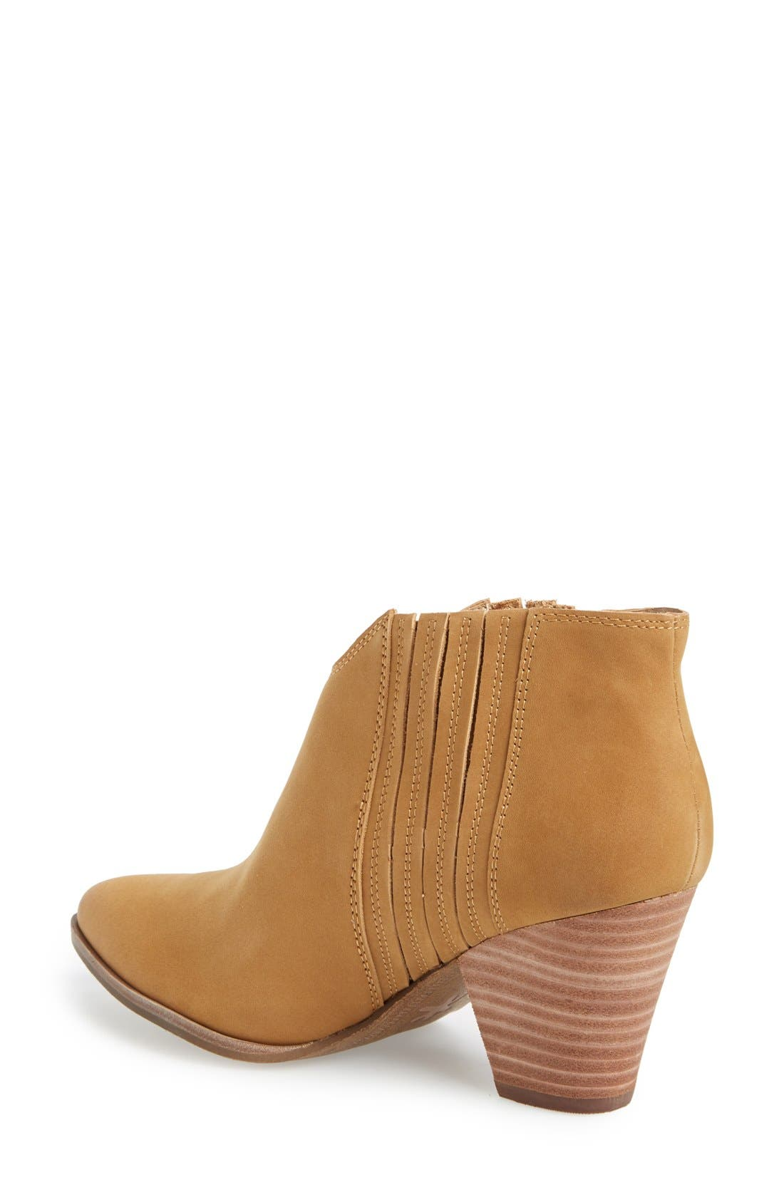 'Addie' Pointy Toe Ankle Bootie,                             Alternate thumbnail 11, color,