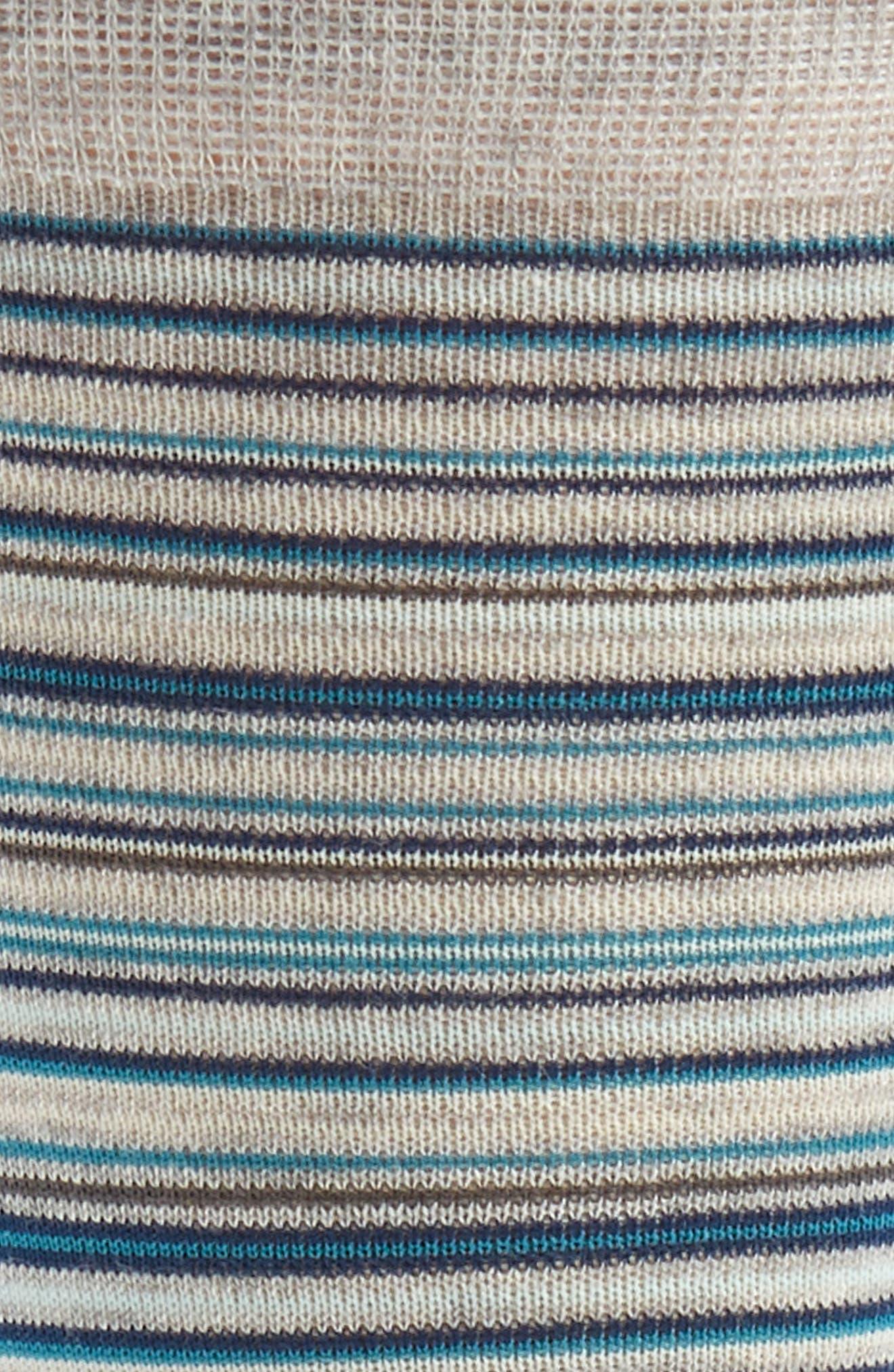 Multistripe Crew Socks,                             Alternate thumbnail 15, color,