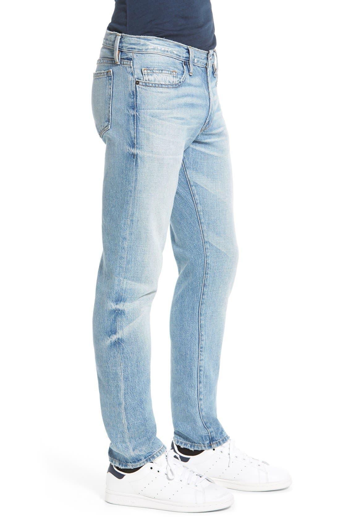 'L'Homme' Slim Fit Jeans,                             Alternate thumbnail 10, color,