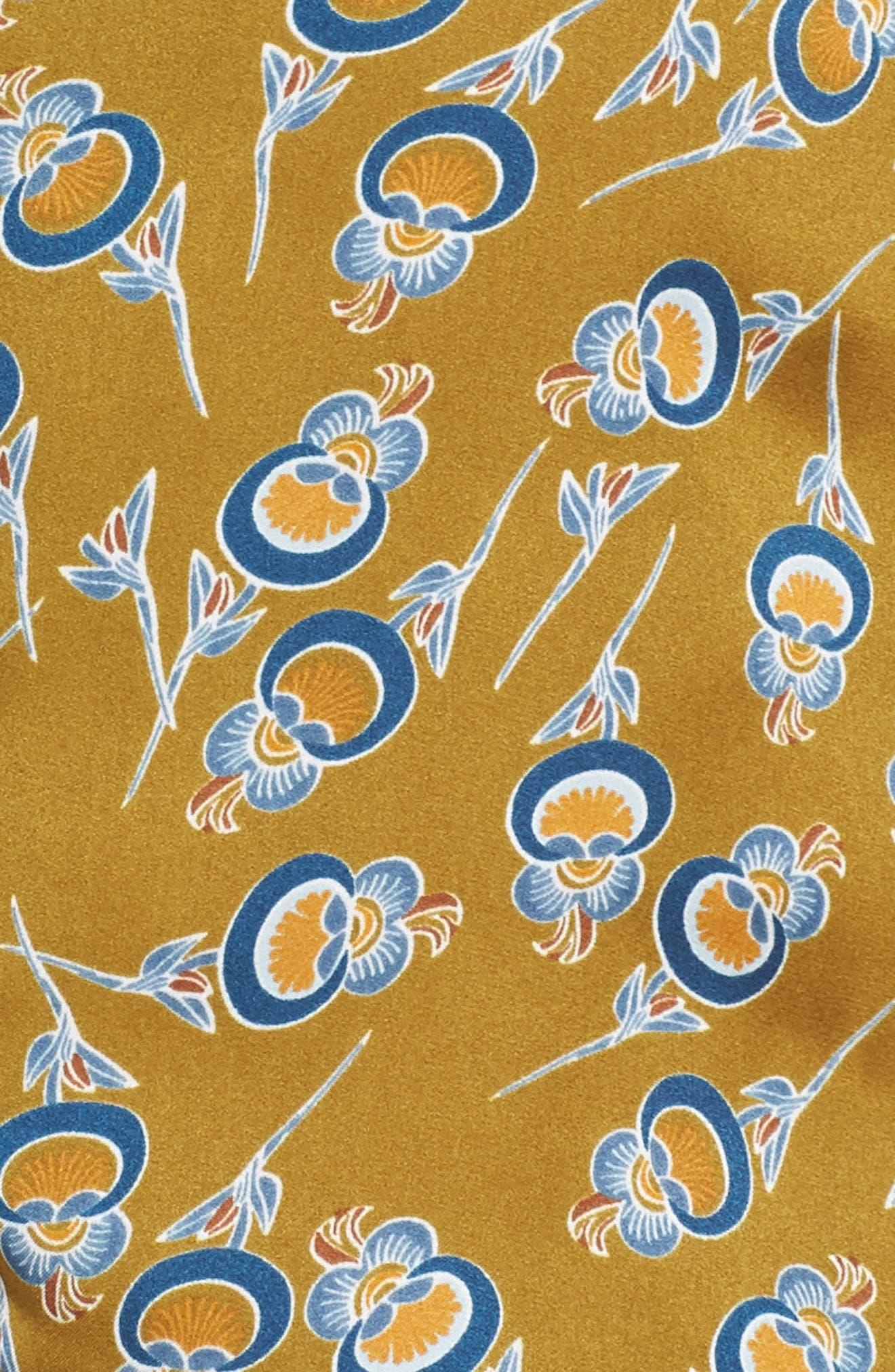 Ella Pajamas,                             Alternate thumbnail 5, color,                             OLIVE ESTATE ORIENTAL BLOOM