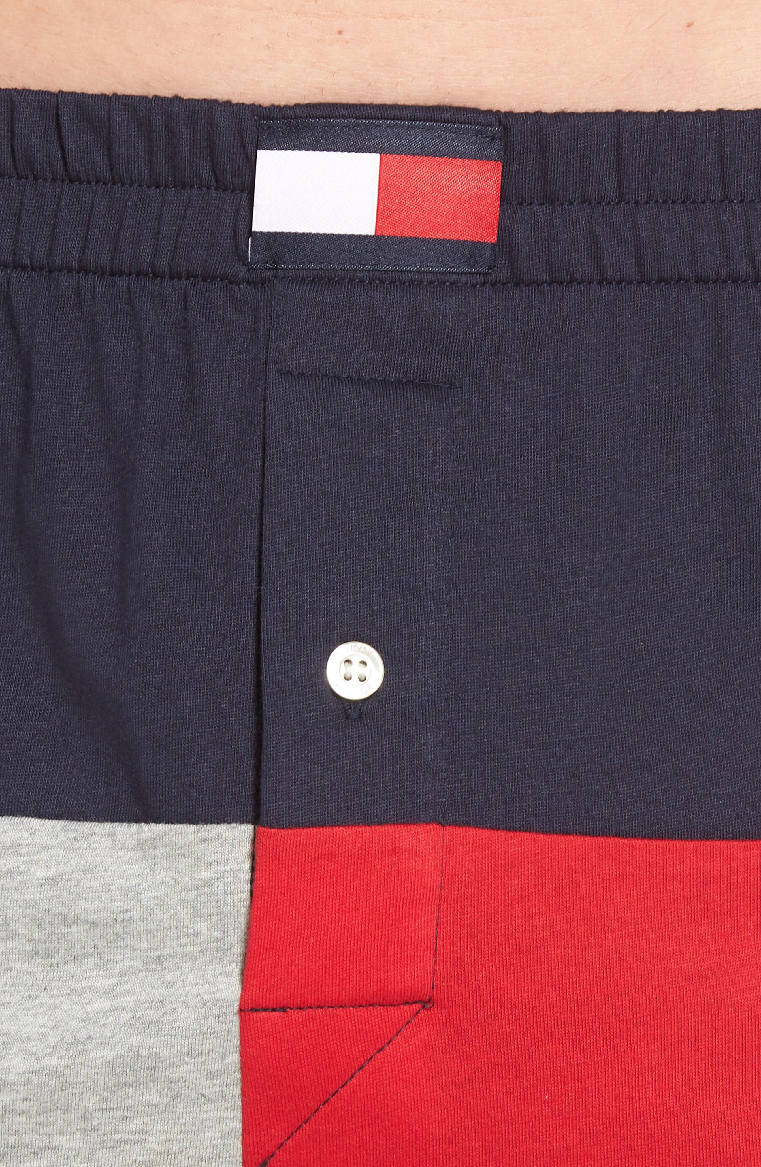 Colorblock Knit Boxers,                             Alternate thumbnail 4, color,