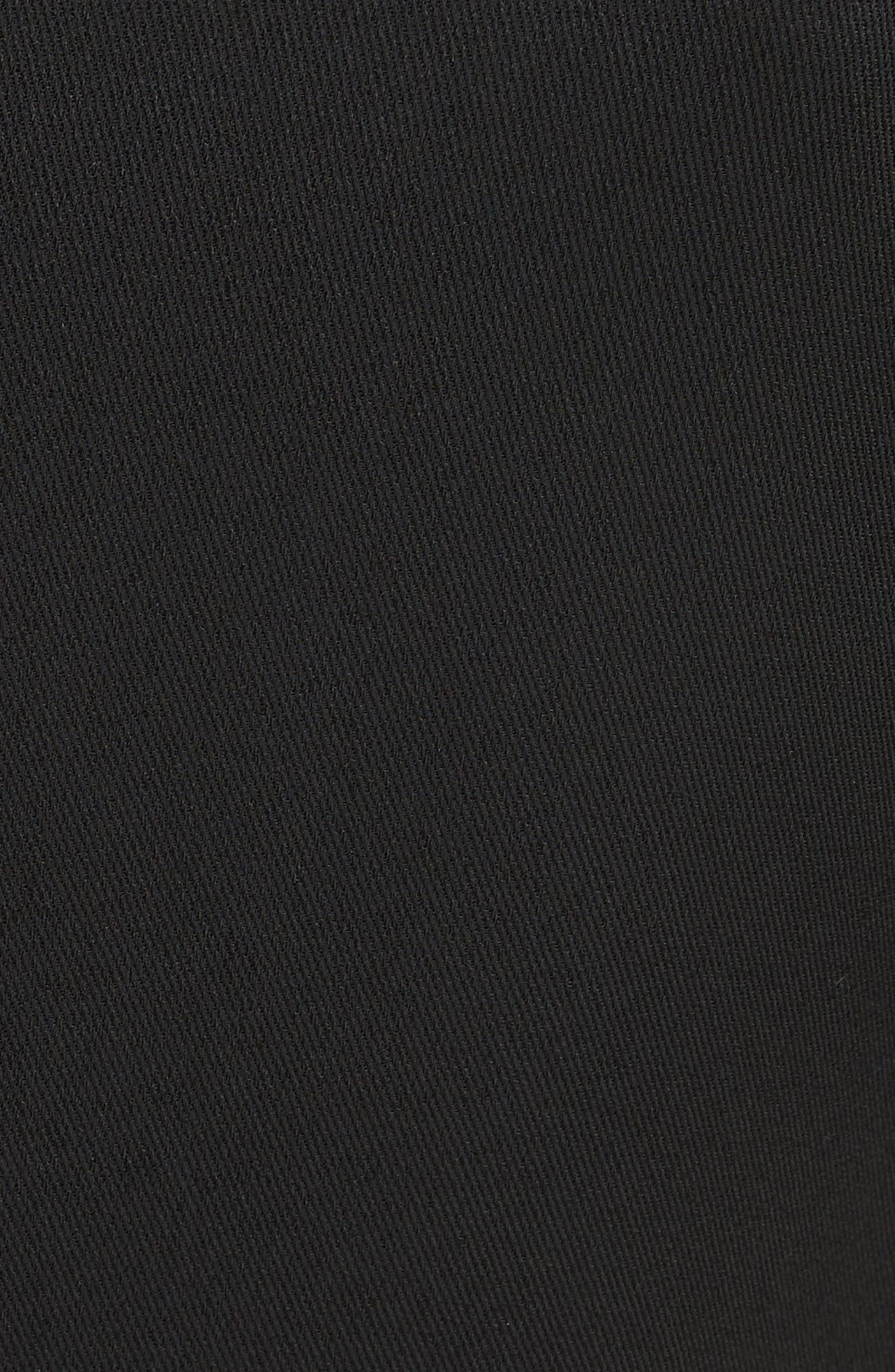 Wide Leg Jumpsuit,                             Alternate thumbnail 6, color,                             BLACK