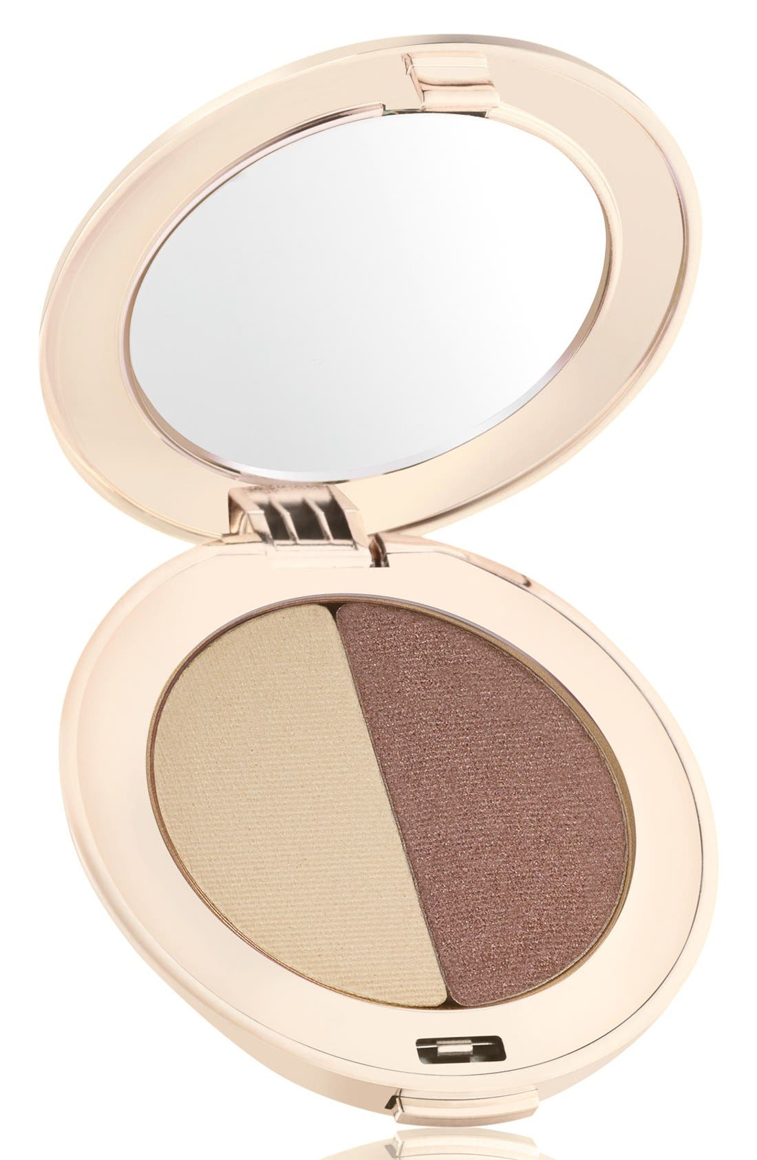 PurePressed<sup>®</sup> Eyeshadow Duo,                         Main,                         color, OYSTER / SUPERNOVA