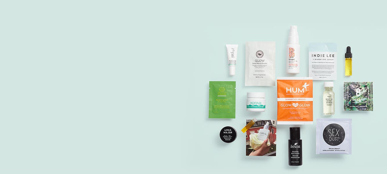 Free 14-piece gift with $75 natural beauty or wellness purchase. A $74 value.