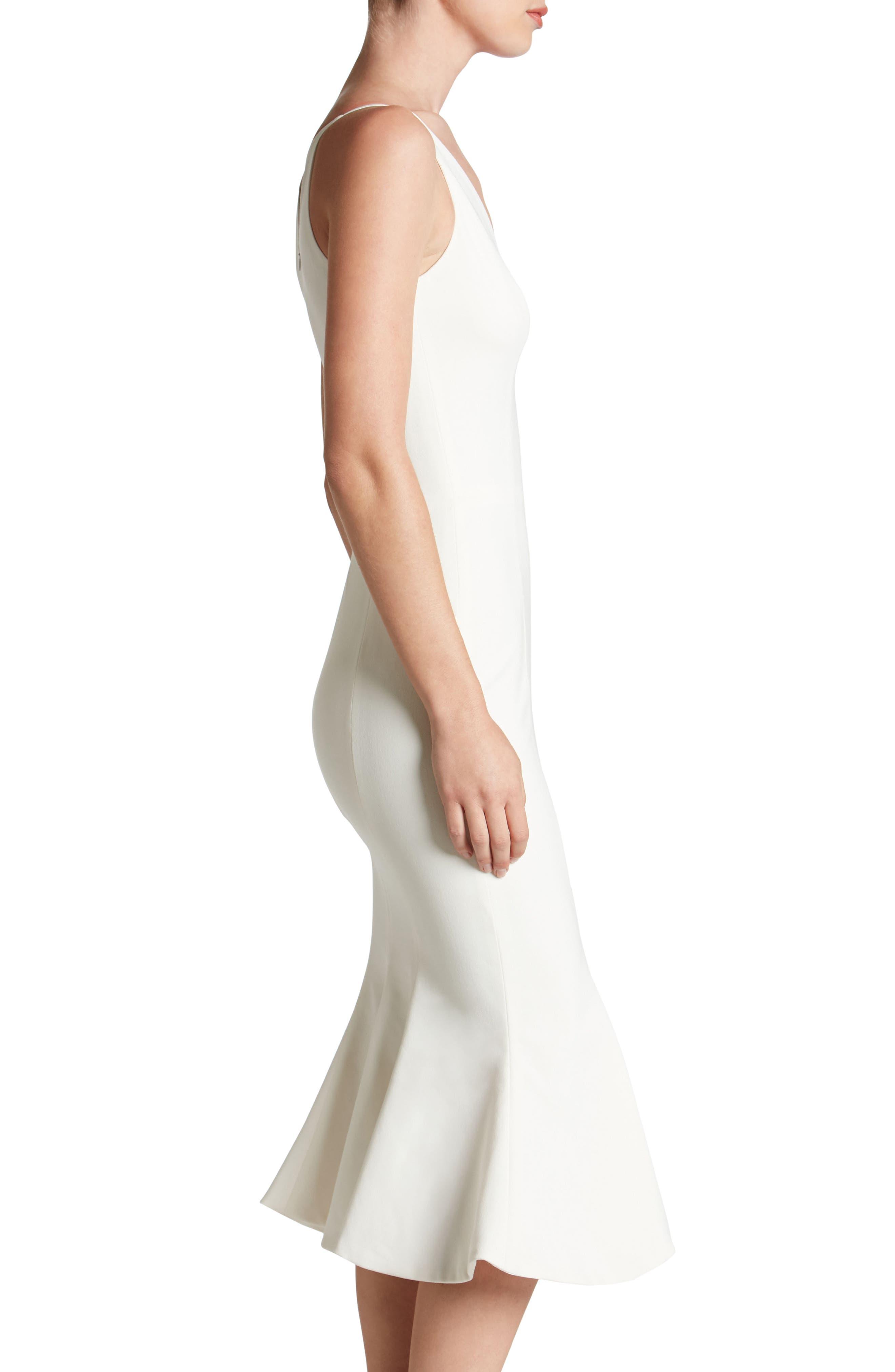 Isabelle Crepe Mermaid Dress,                             Alternate thumbnail 12, color,