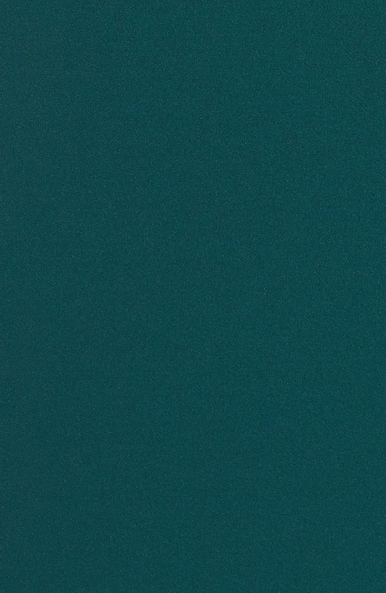 Scuba Crepe Sheath Dress,                             Alternate thumbnail 5, color,