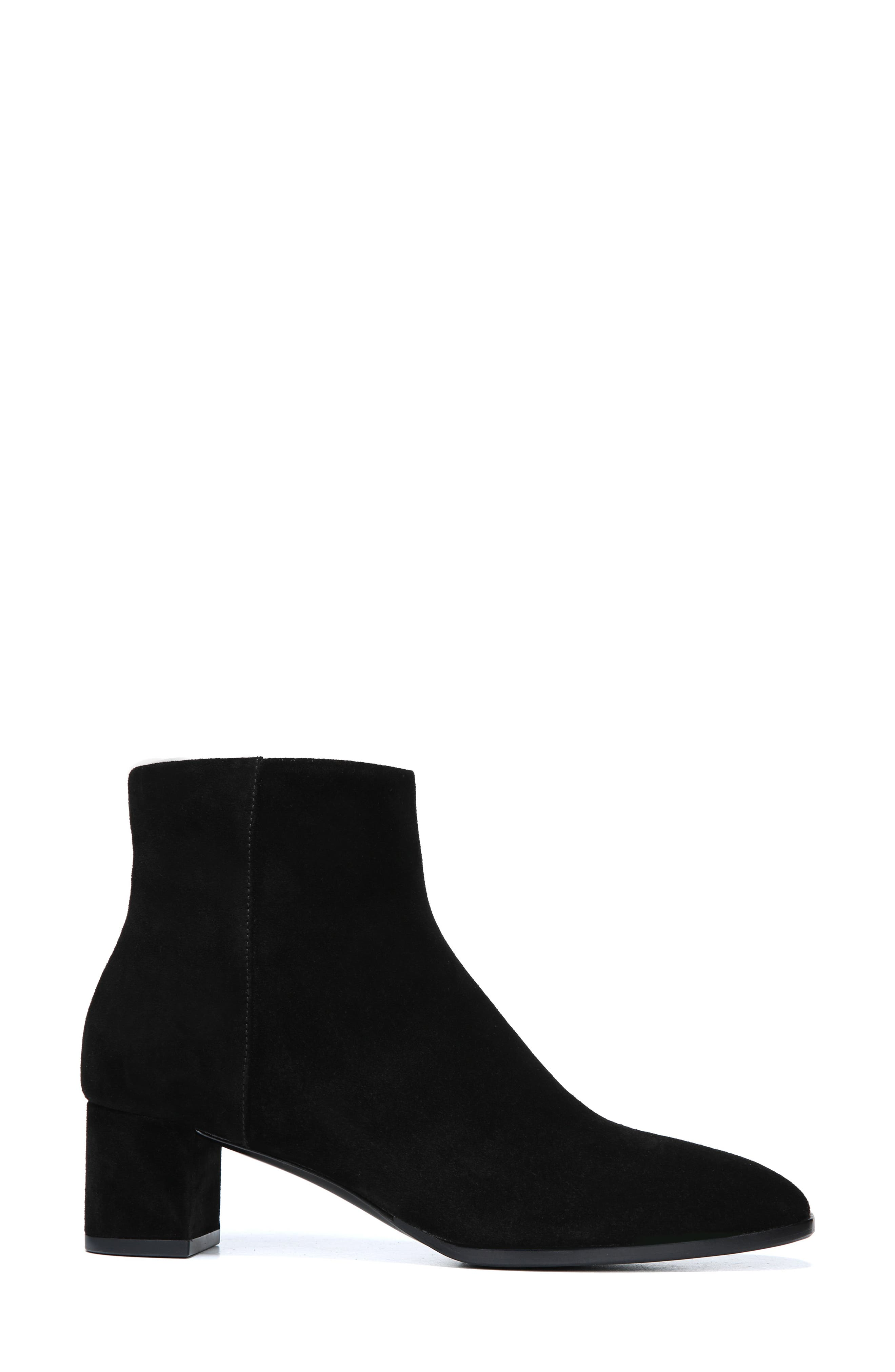 Vail Bootie,                             Alternate thumbnail 3, color,                             BLACK SUEDE