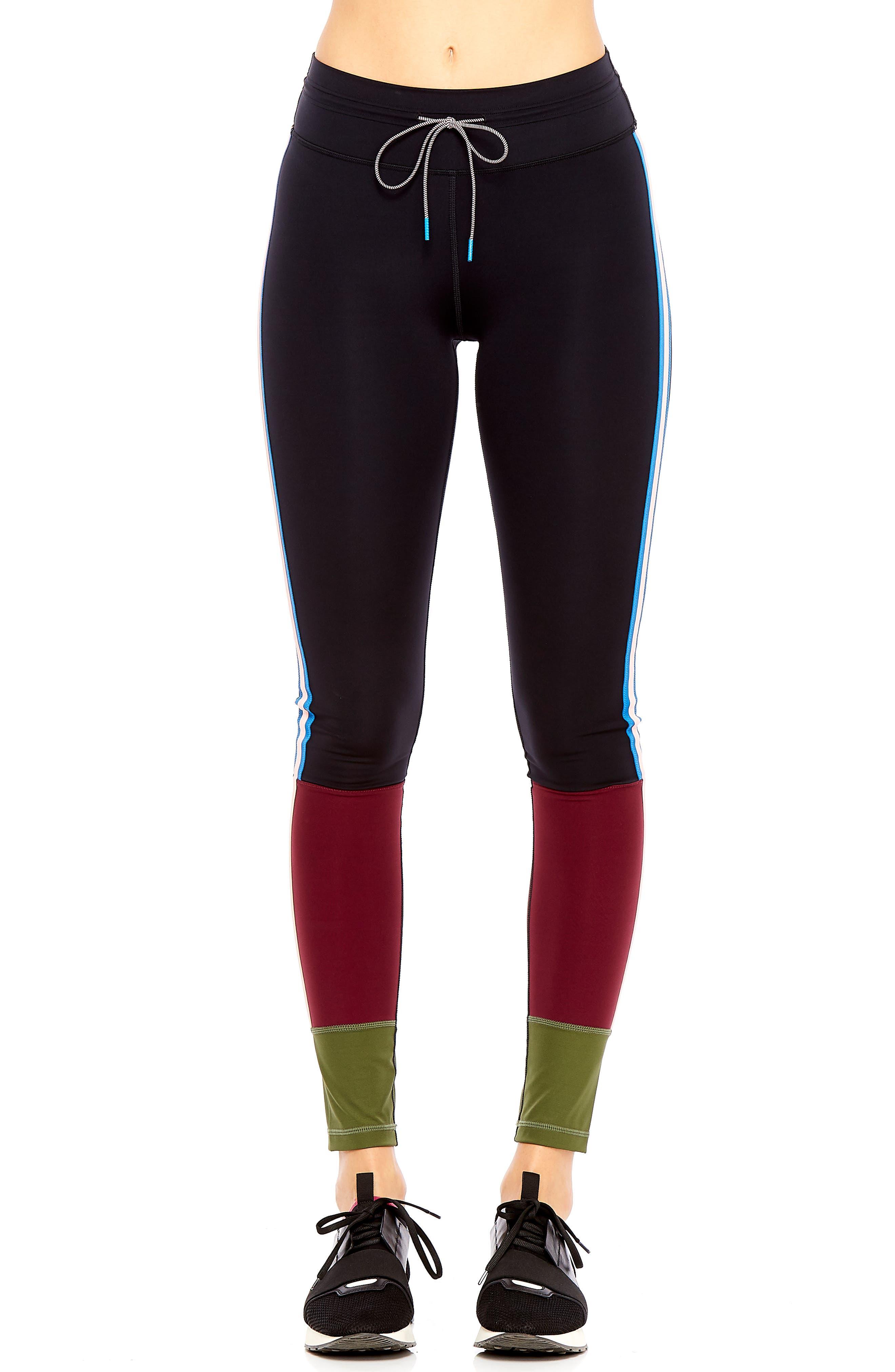 Saratoga Paneled Leggings,                         Main,                         color, 001
