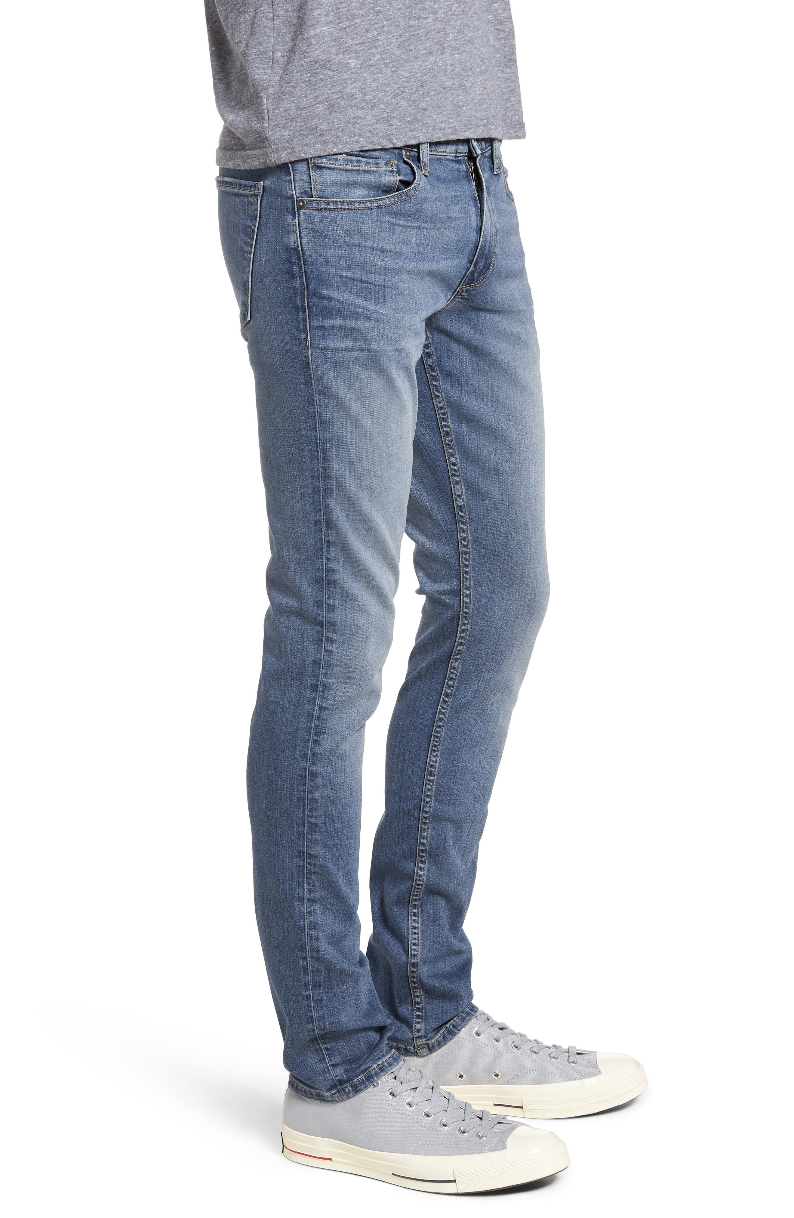 Croft Skinny Fit Jeans,                             Alternate thumbnail 3, color,                             400