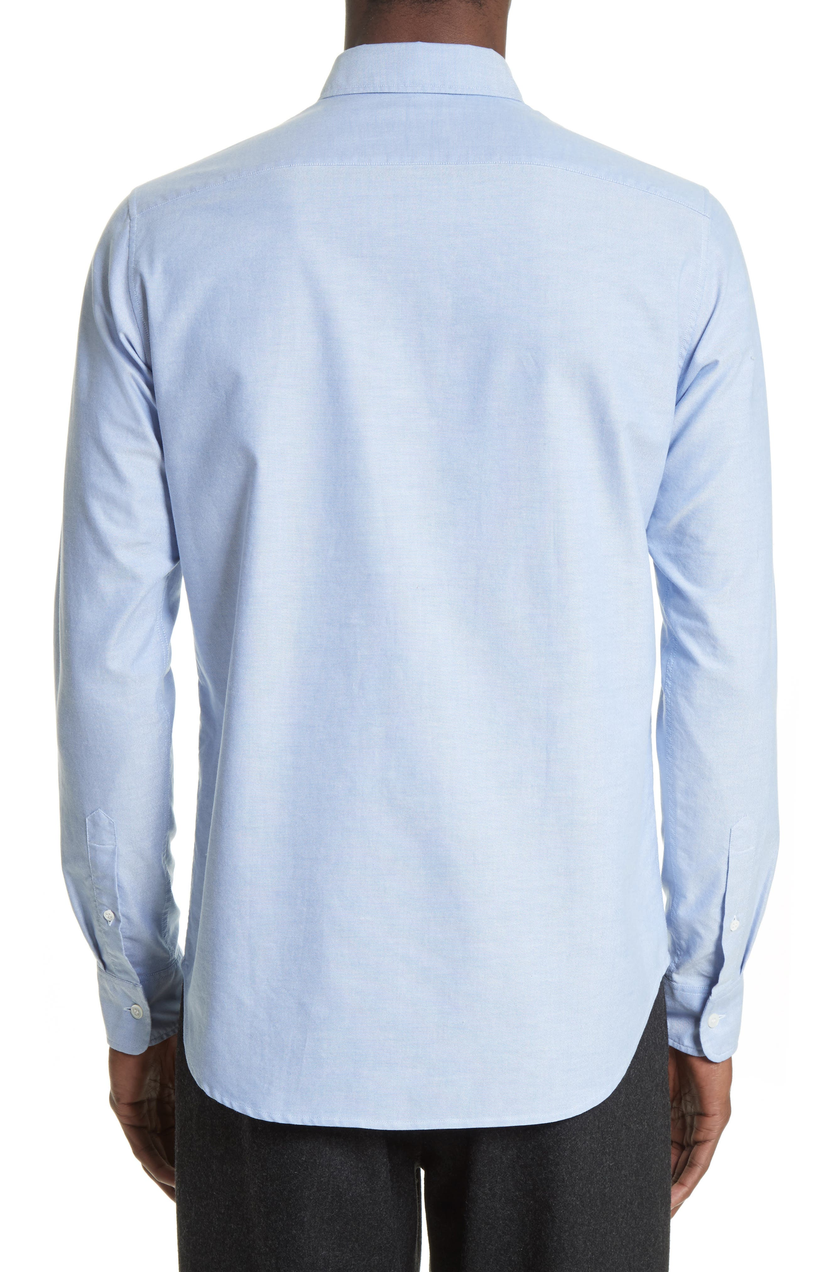 Ohio Face Patch Oxford Shirt,                             Alternate thumbnail 6, color,
