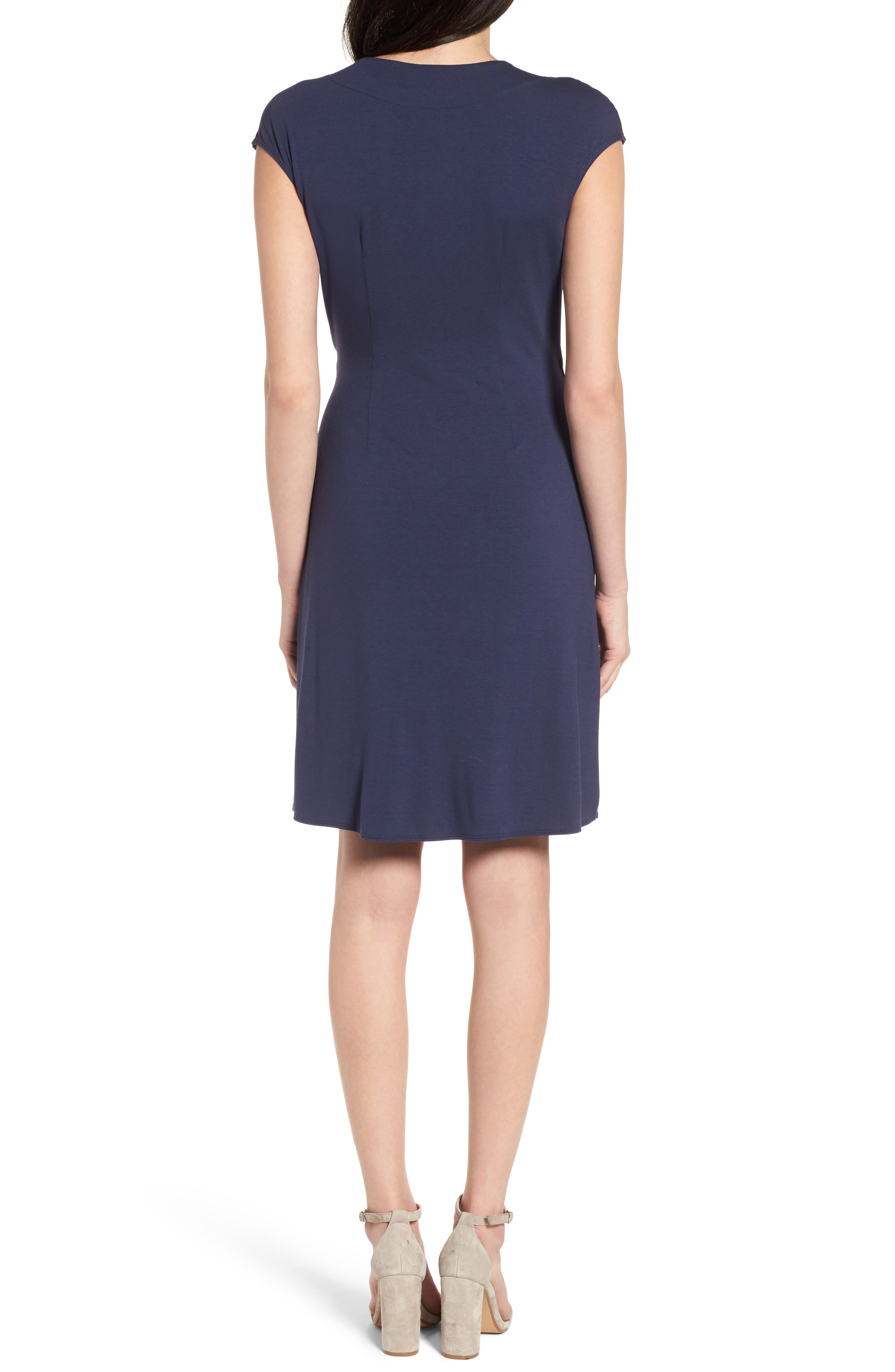 'Tambour' Side Gathered Dress,                             Alternate thumbnail 10, color,