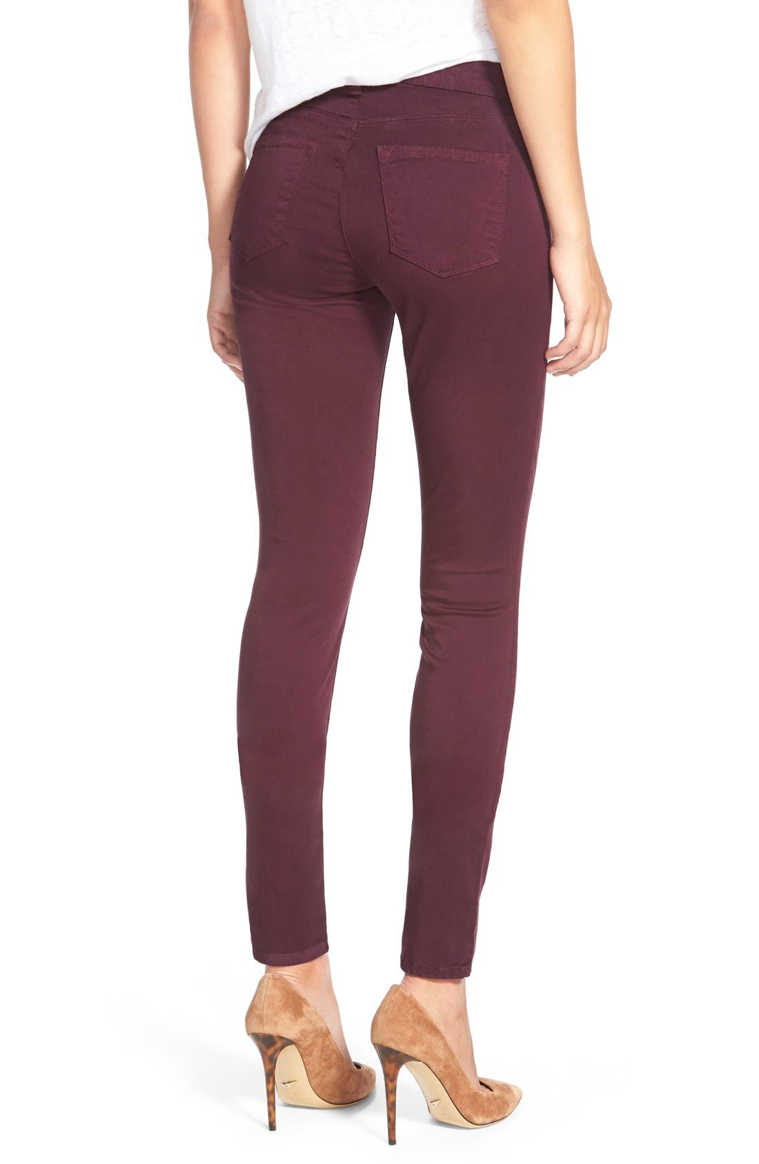 High Waist Ankle Super Skinny Jeans,                             Alternate thumbnail 79, color,