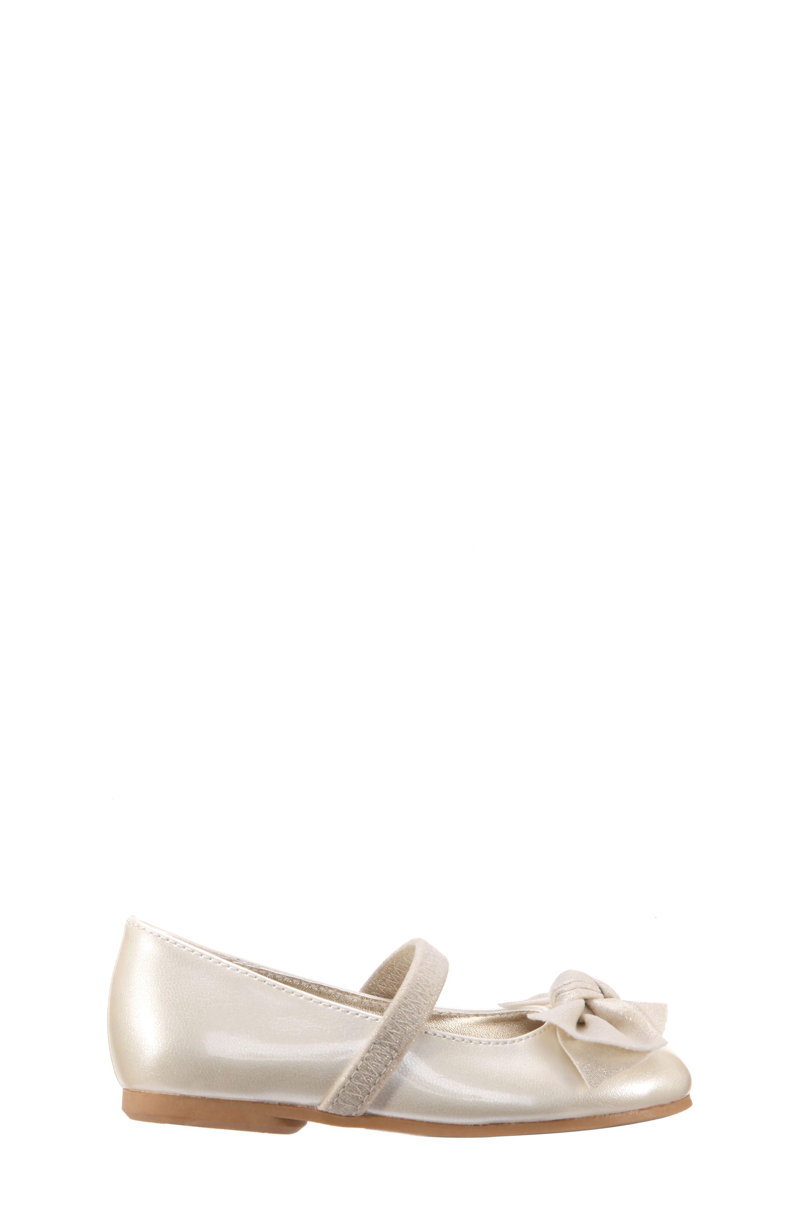 Kaytelyn-T Glitter Bow Ballet Flat,                             Alternate thumbnail 21, color,