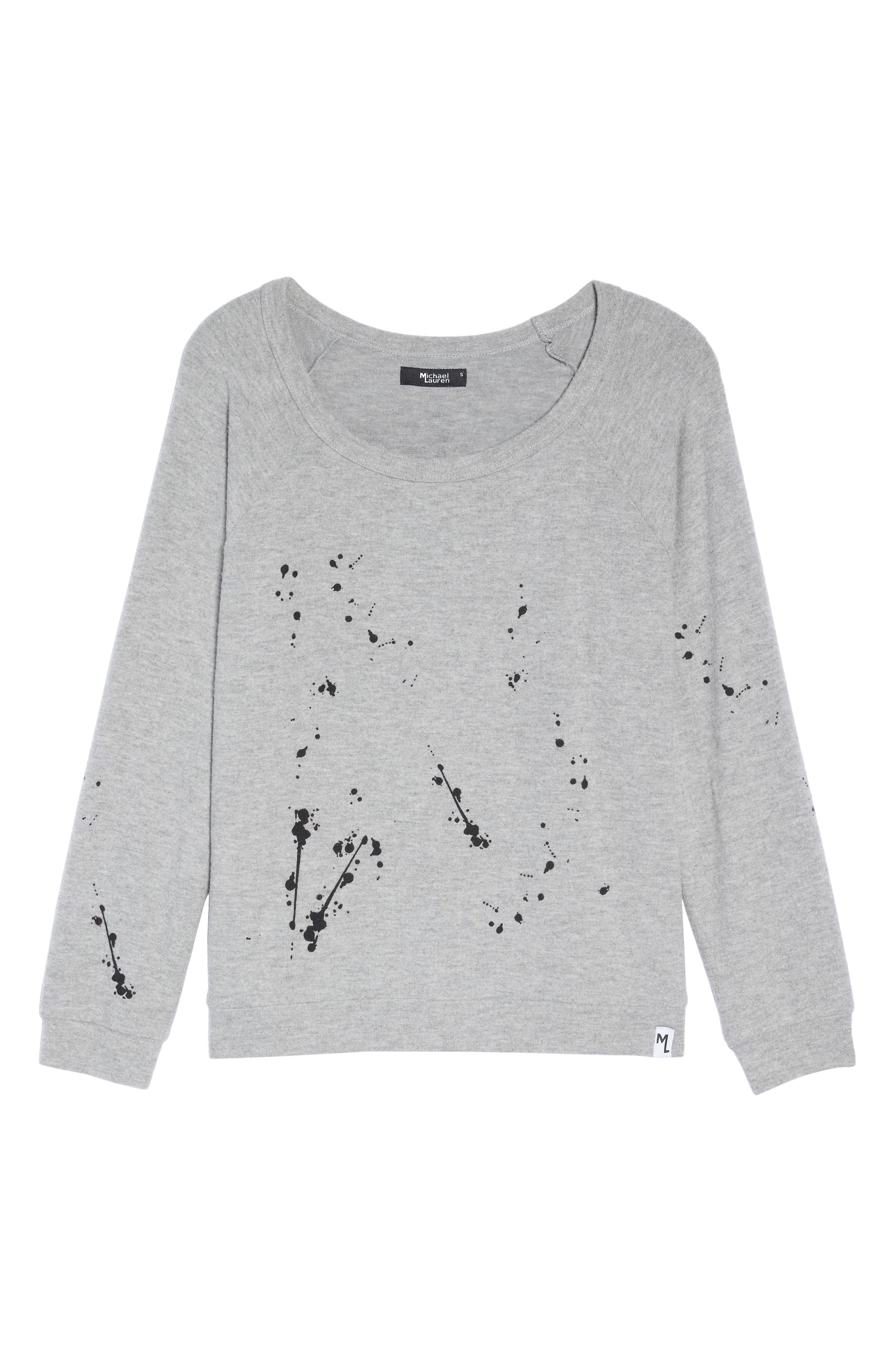 Kenny Splatter Lounge Sweatshirt,                             Alternate thumbnail 6, color,                             035