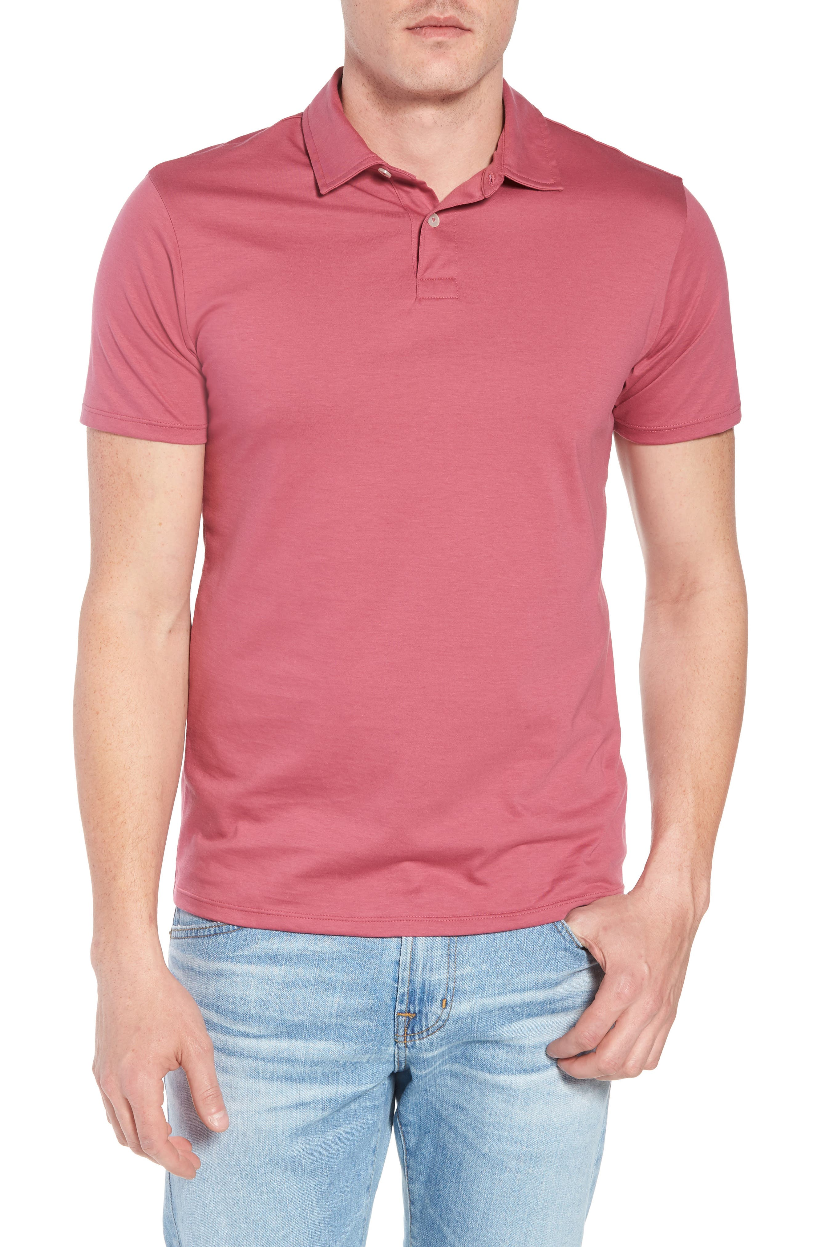 Refined Jersey Polo,                             Main thumbnail 8, color,