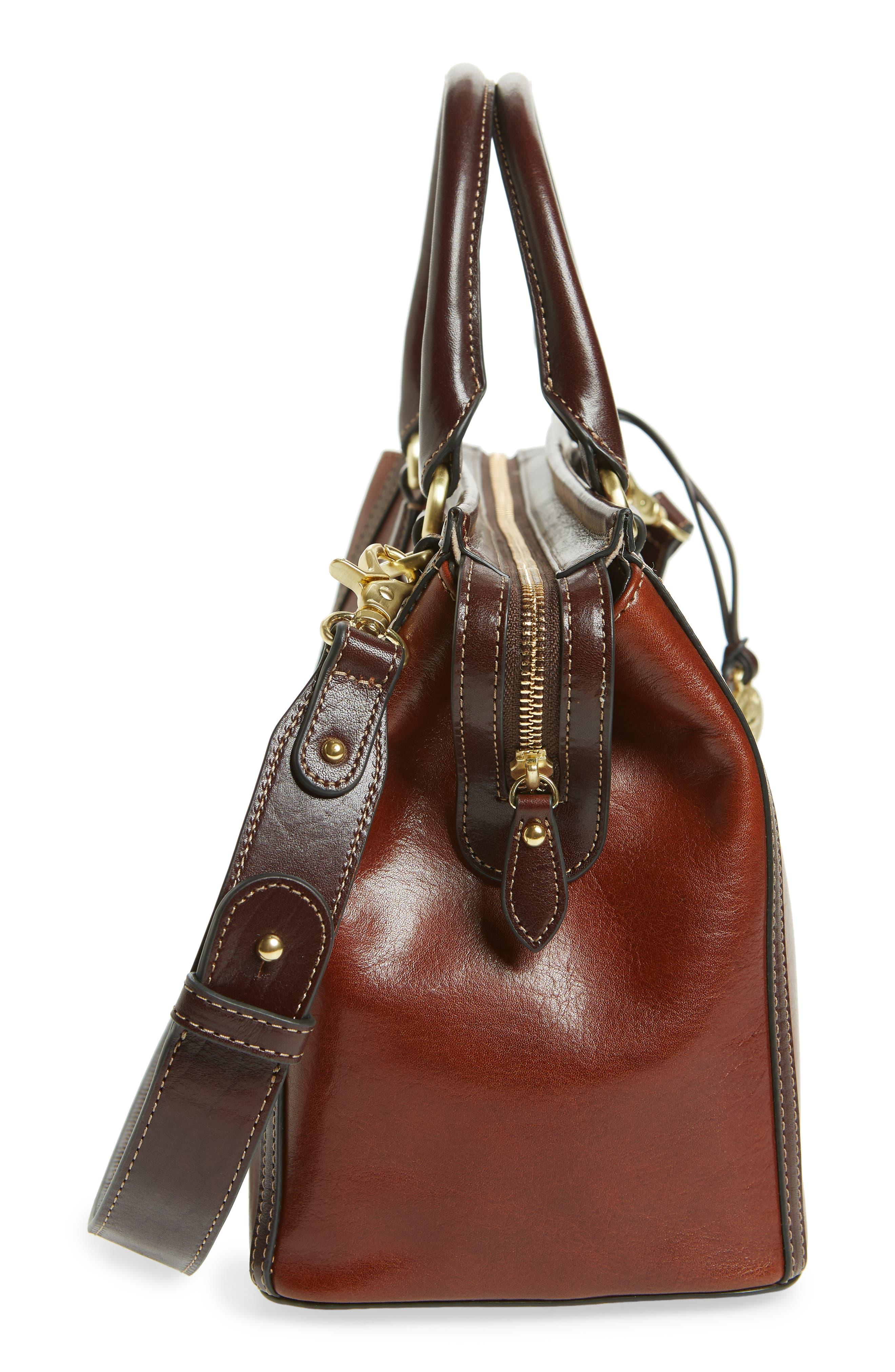 Schooner Leather Satchel,                             Alternate thumbnail 5, color,                             200
