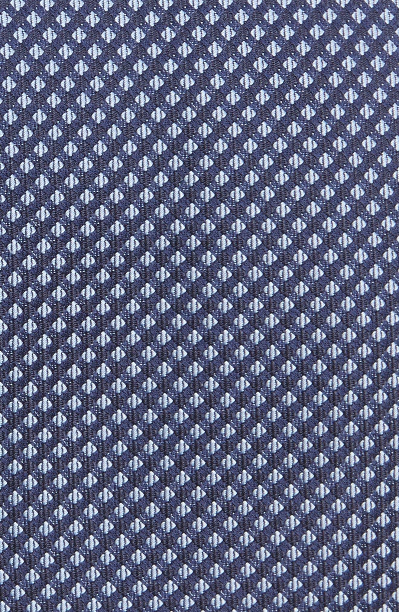 Geometric Silk Skinny Tie,                             Alternate thumbnail 2, color,                             413